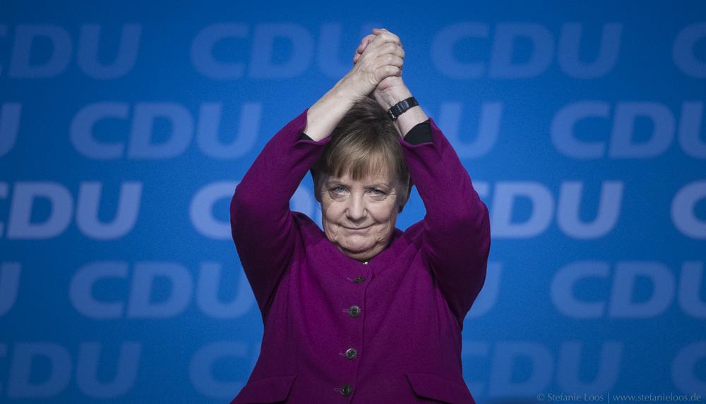 Angela Merkel auf dem CDU Parteitag