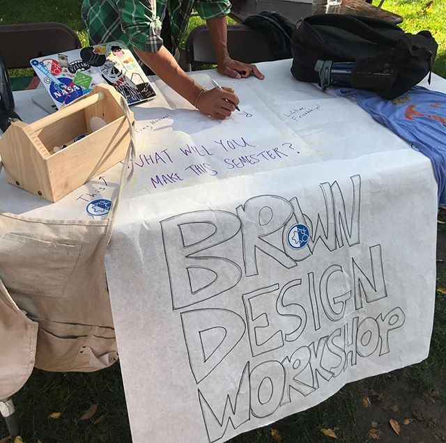 What will you build at the BDW this semester? Come find us at the Activities Fair right now on the main green!