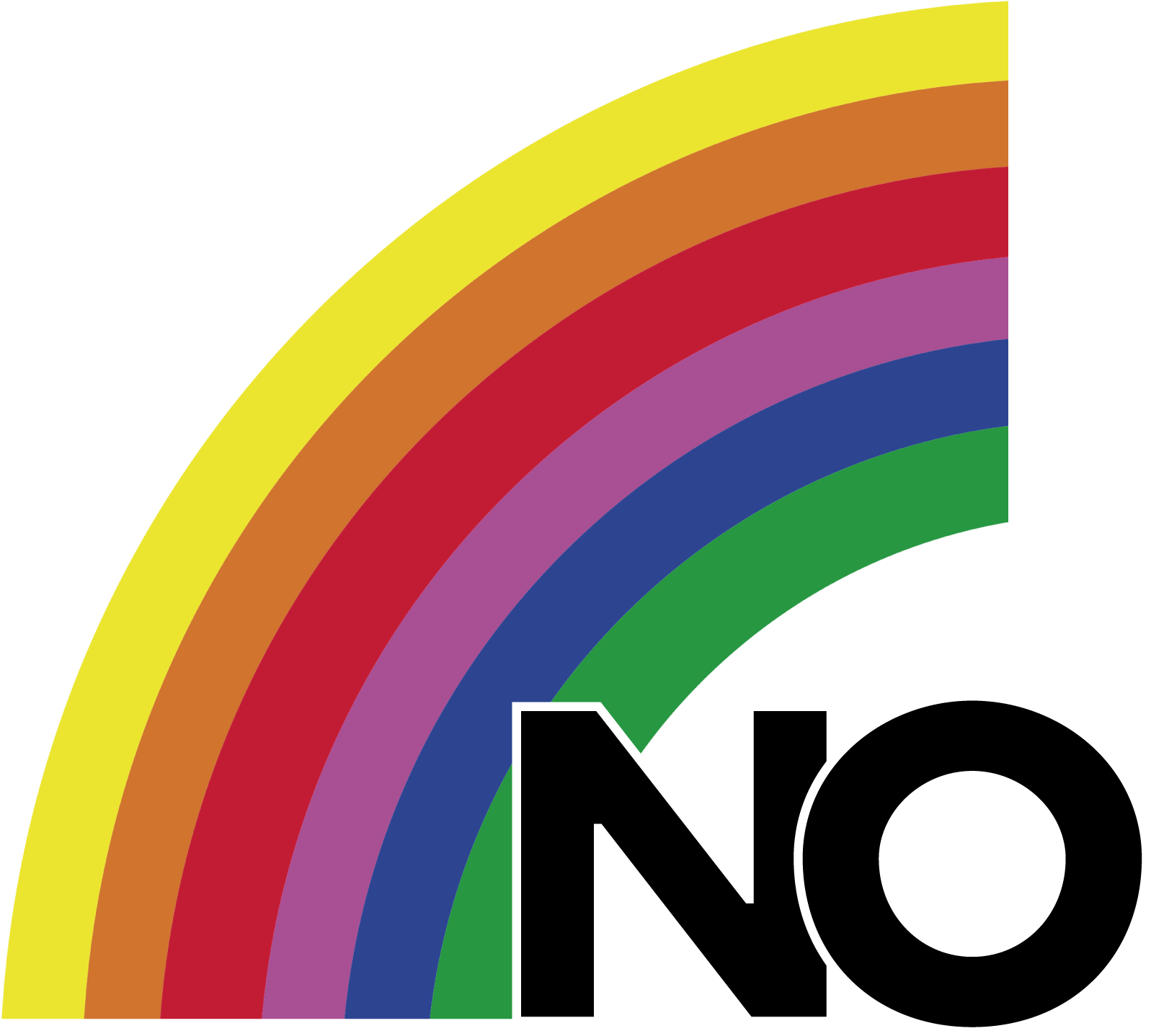 The logo for the No campaign for the 1988 plebiscite in Chile, via Wikipedia