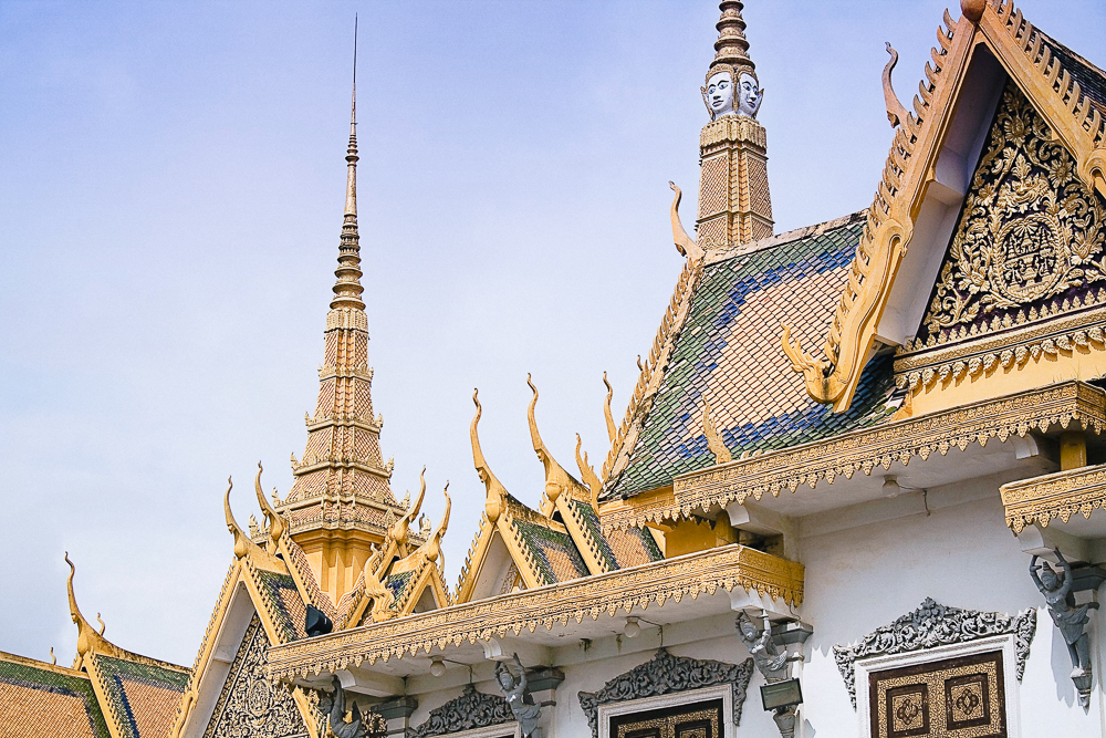 Phnom Penh - Cambodia's busy capital retains the remnants of its french colonial past amidst the hectic urban landscape of motodop-filled roads, local markets, royal palaces and trendy spots.