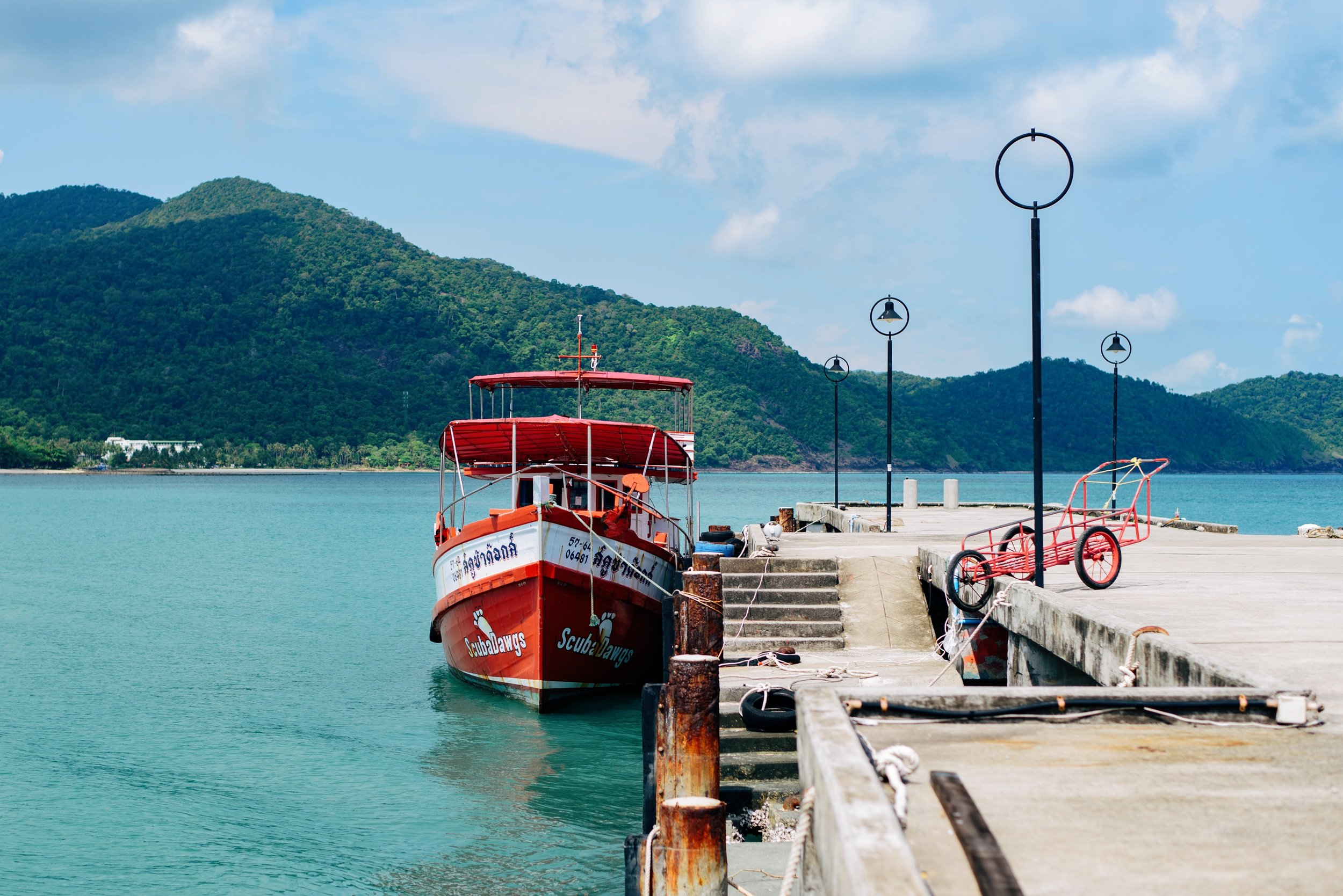 Koh Rong - A tropical group of islands off the coast of Sihanoukville, with white-sand beaches and clear-blue waters that remain pristine and undeveloped.