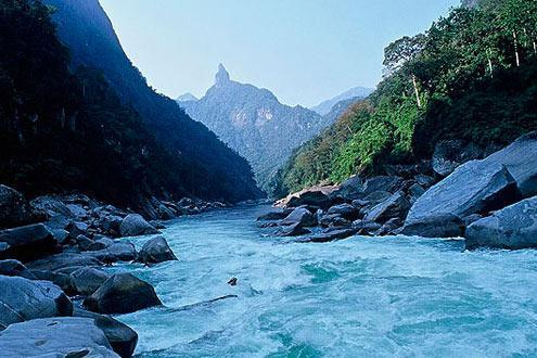 putao - Myanmar's claim on the Himalayas was an important British outpost during WWII, now calling on hikers and river rafting enthusiasts.