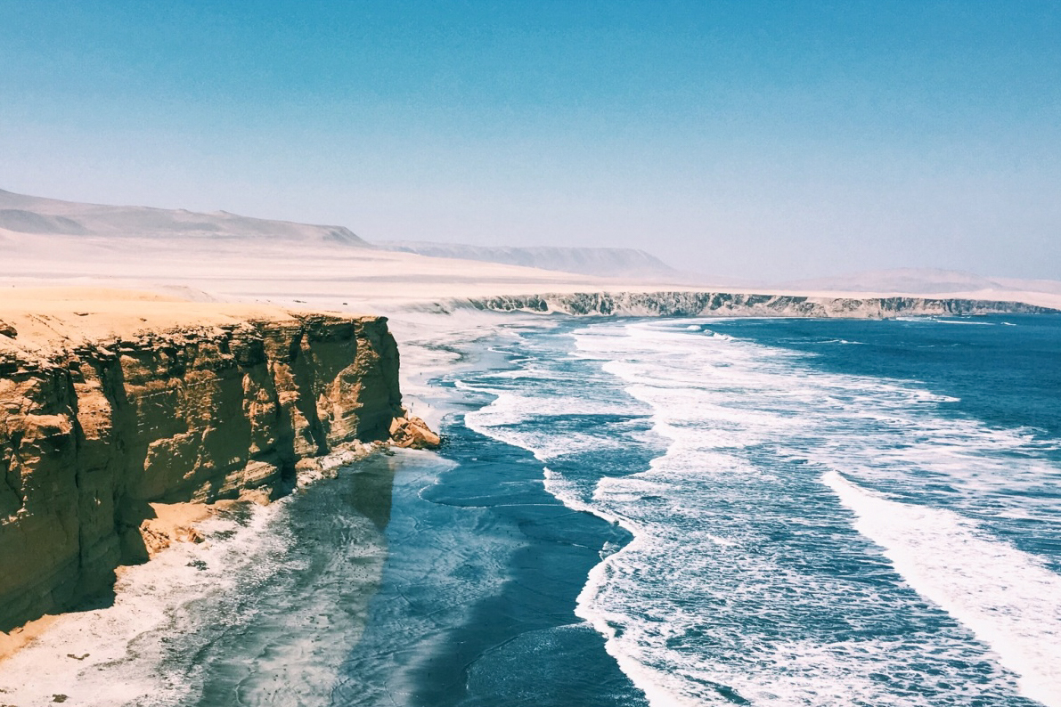 Pacific Coast - Peru's wild coast is dotted with sleepy fishing villages and bohemian beachside towns perfect for unwinding, detoxing and surfing.