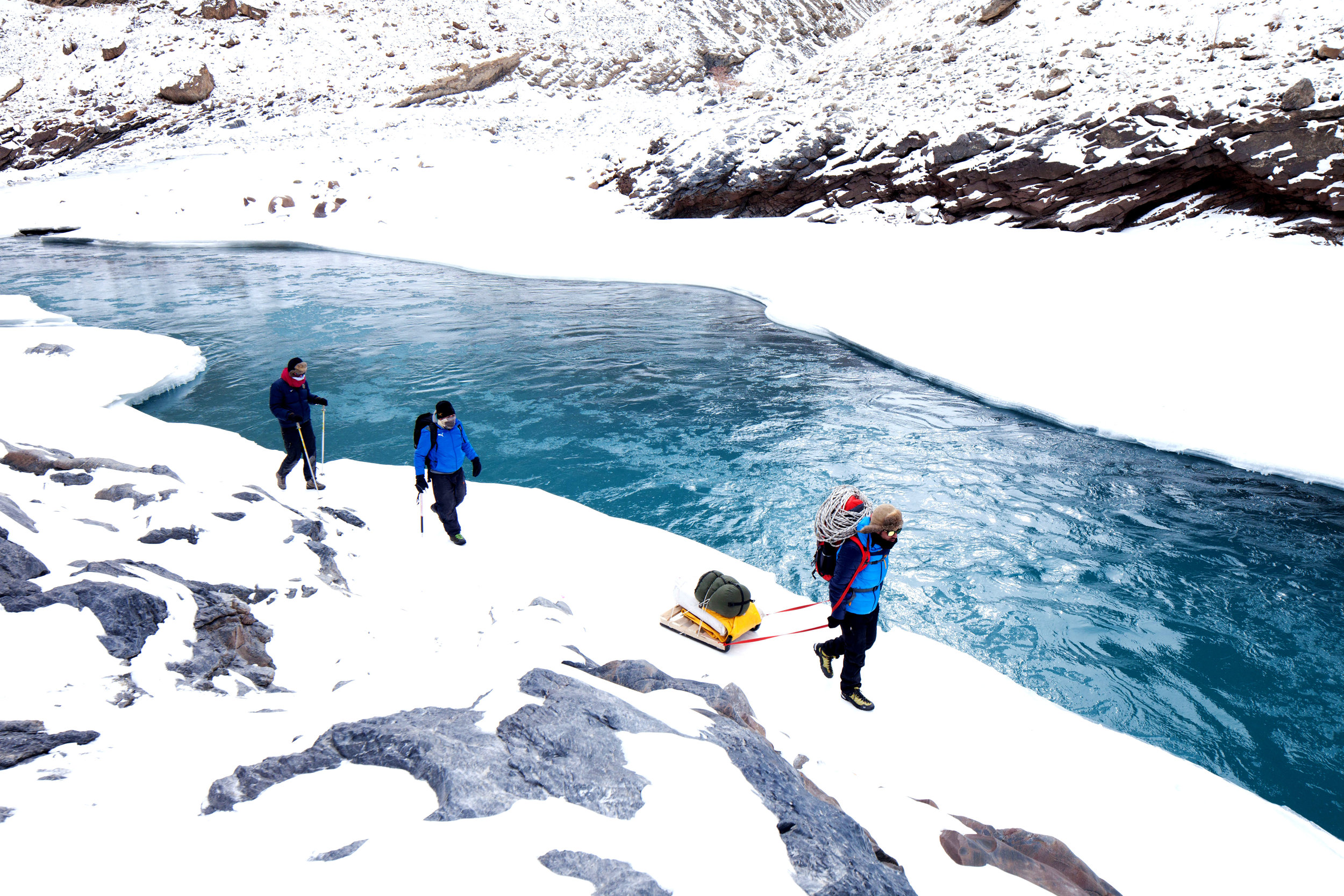 kashmir & ladakh - Traverse the Himalayas by raft and on-foot as the locals do during the changing seasons, and unveil some of the world's most breathtaking scenery.