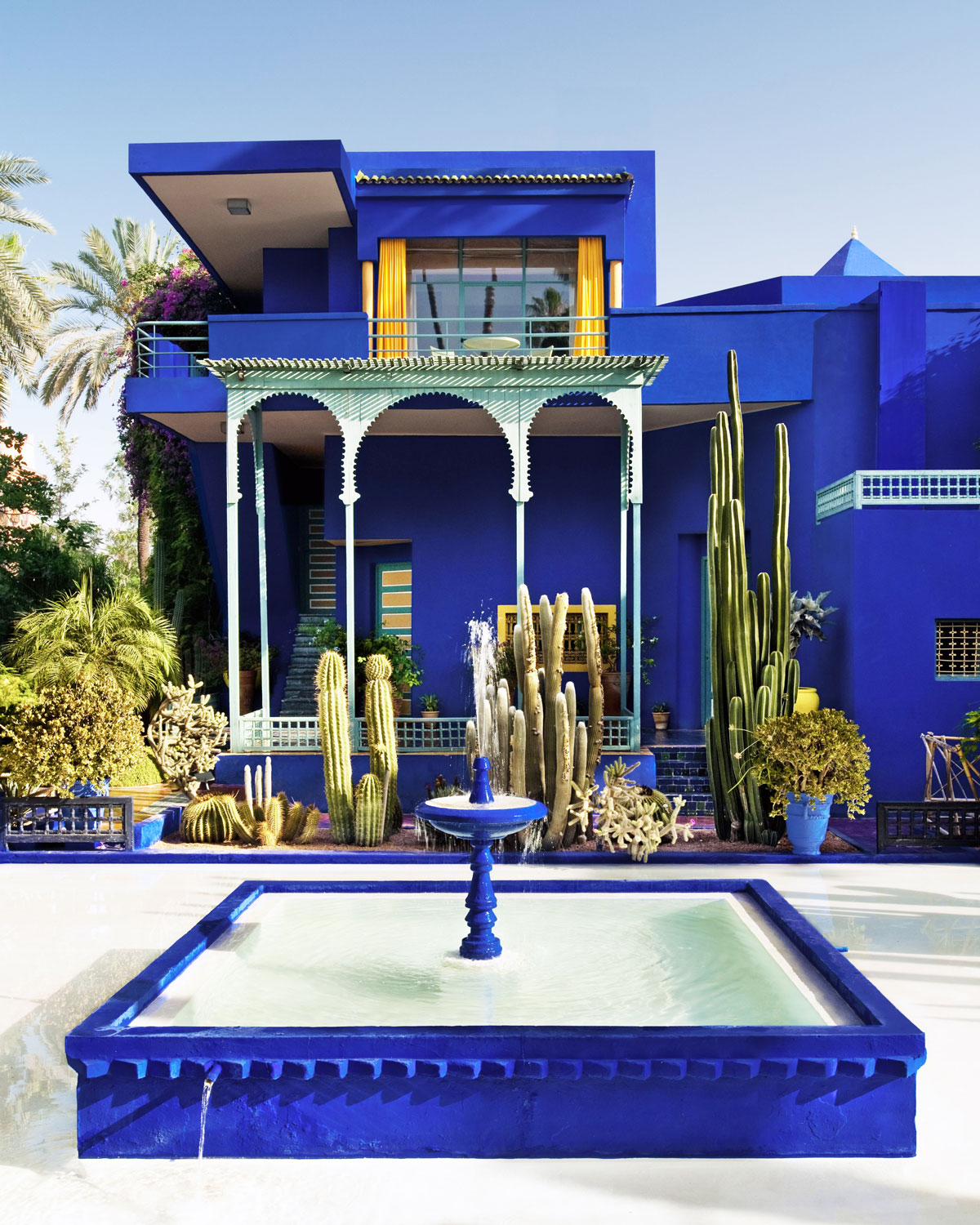 Marrakesh - While staying at a private riad exclusively for your group, explore Sarah Casewit's city of birth: the Red City. Discover the unique art of bartering and bargaining for goods in the markets, visit the secluded gardens of Majorelle and Jardin Secret. Learn to prepare Moroccan dishes at a private cooking class. Meet with a local artist in his atelier for an introduction to Moroccan contemporary art.