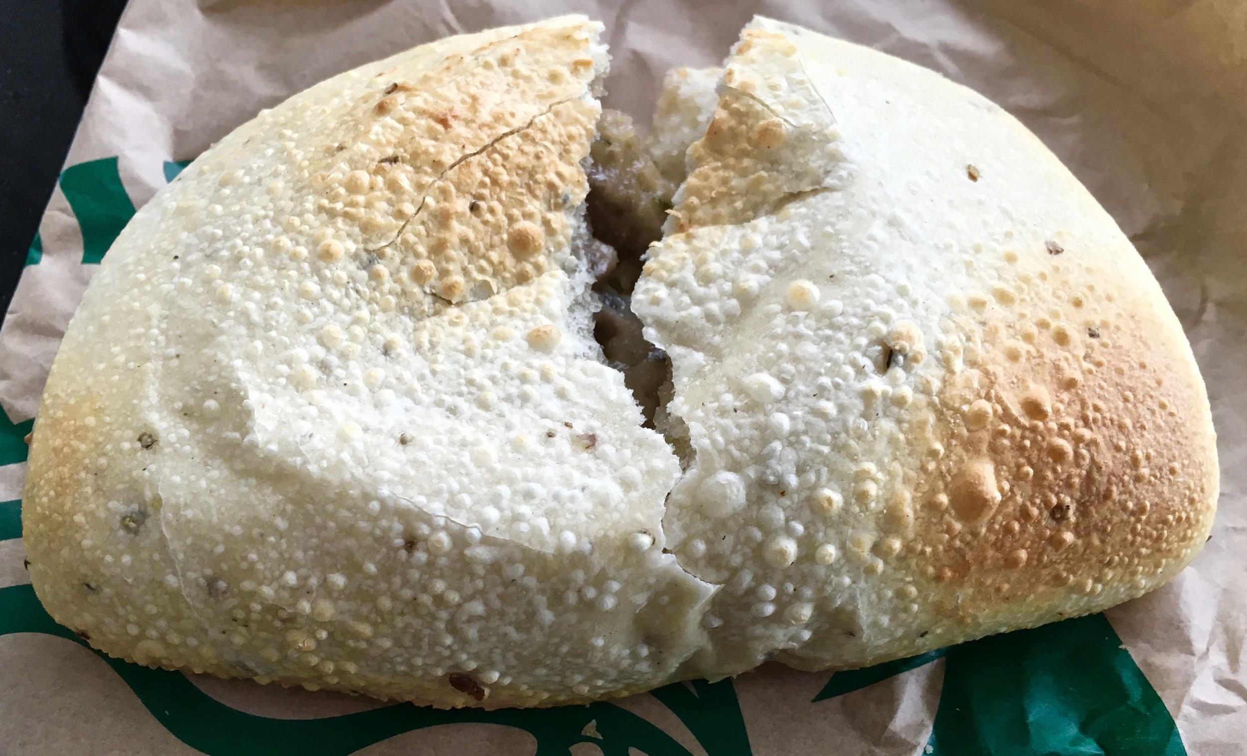 mushroom and cheese hot pocket