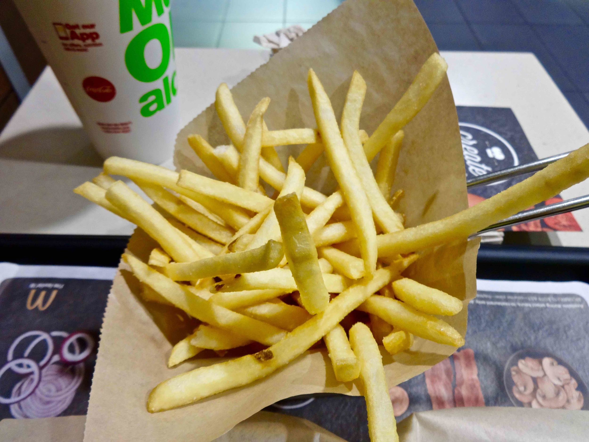 french fries from McCafe