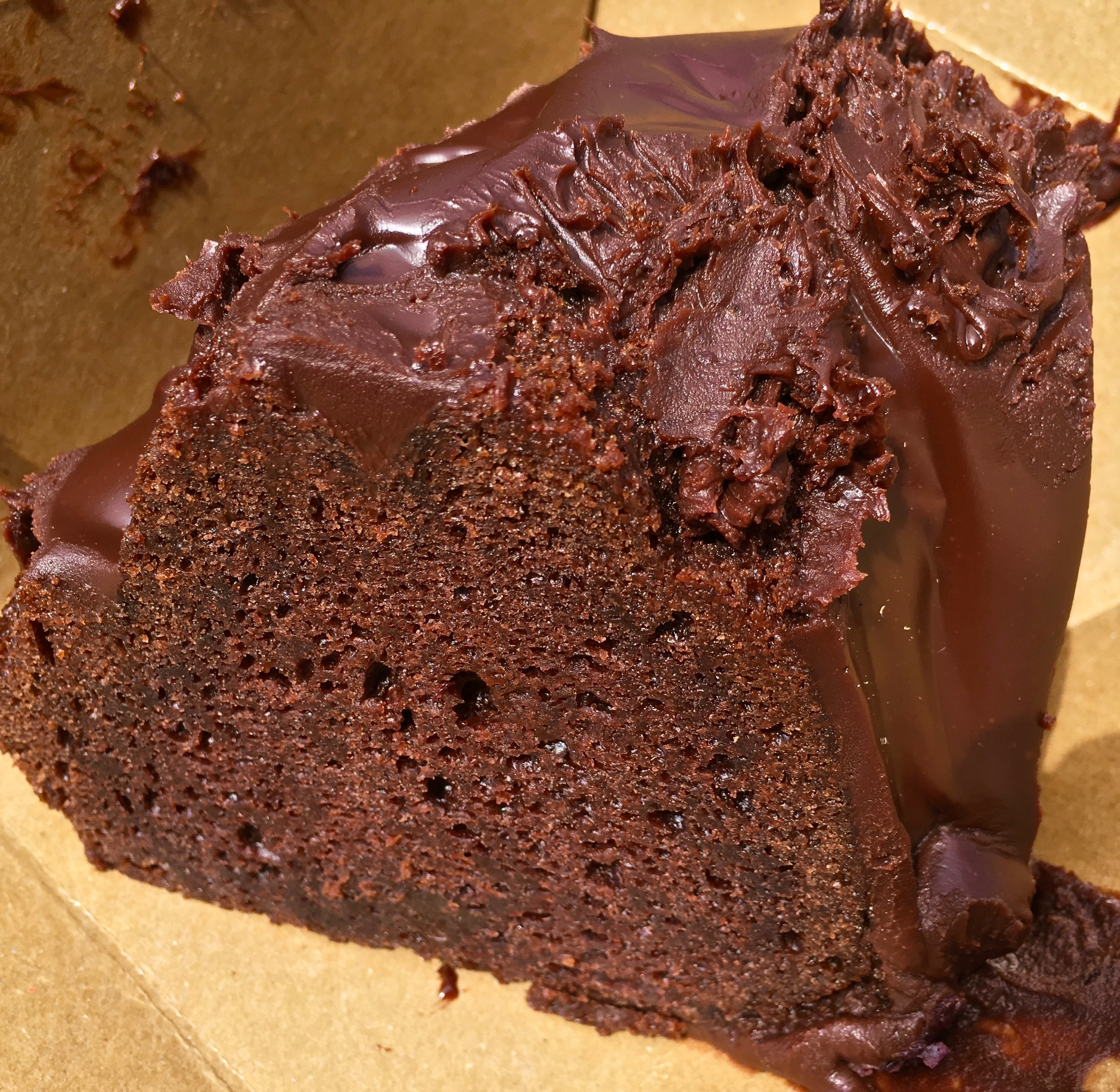 frosted chocolate bundt cake
