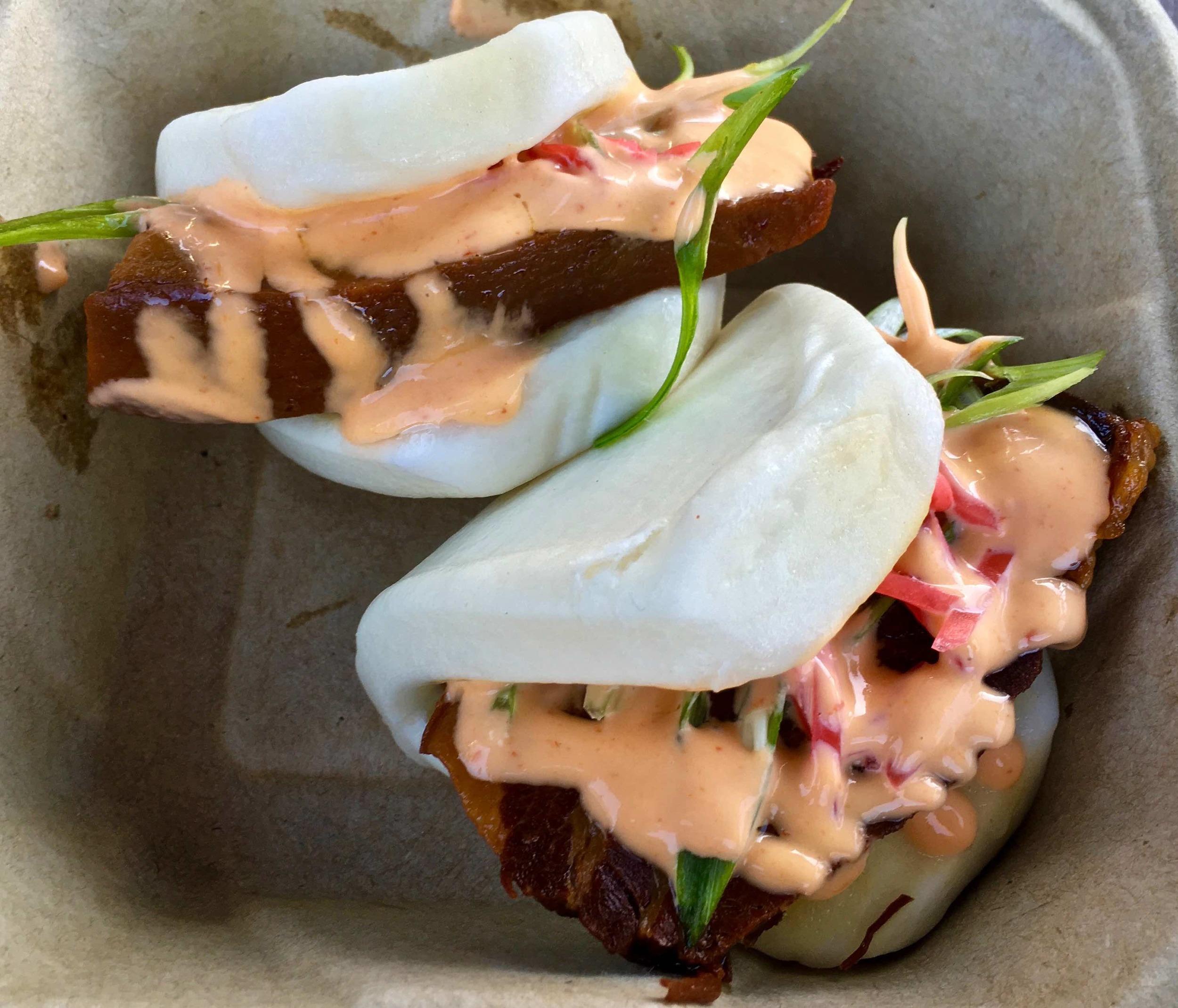 hirata buns with kakuni