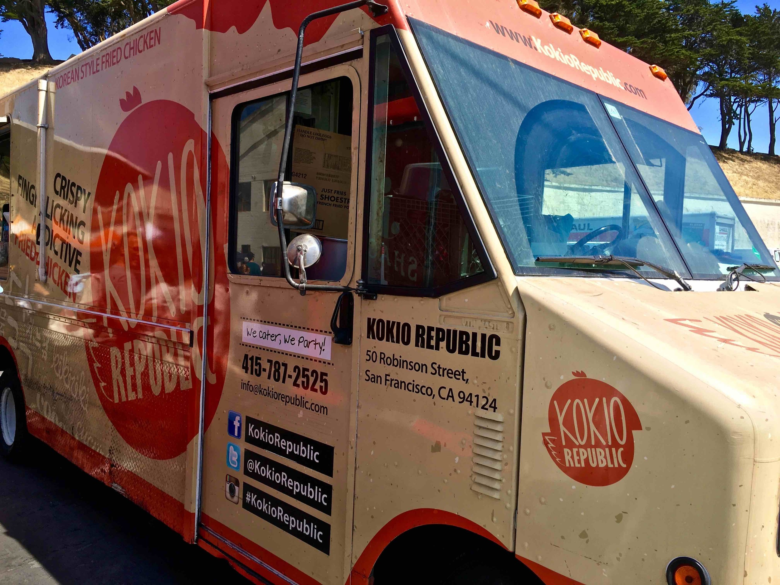 Kokio Republic food truck