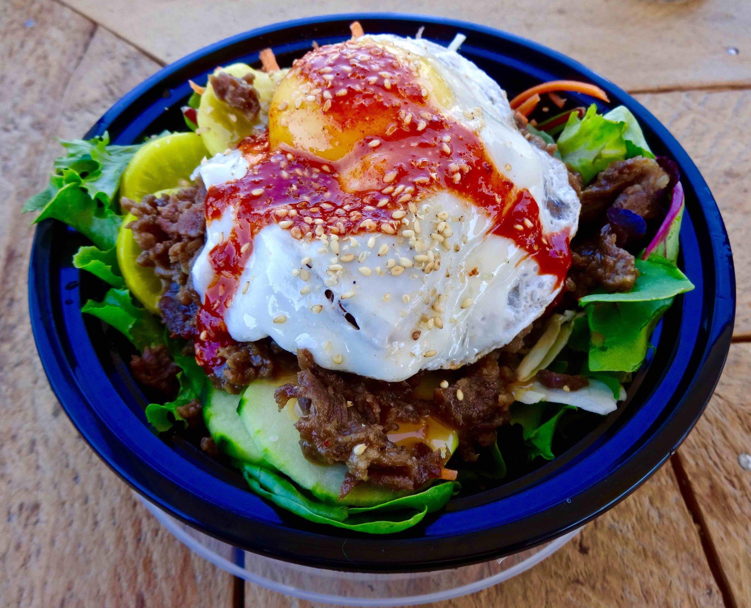 korean salad bowl