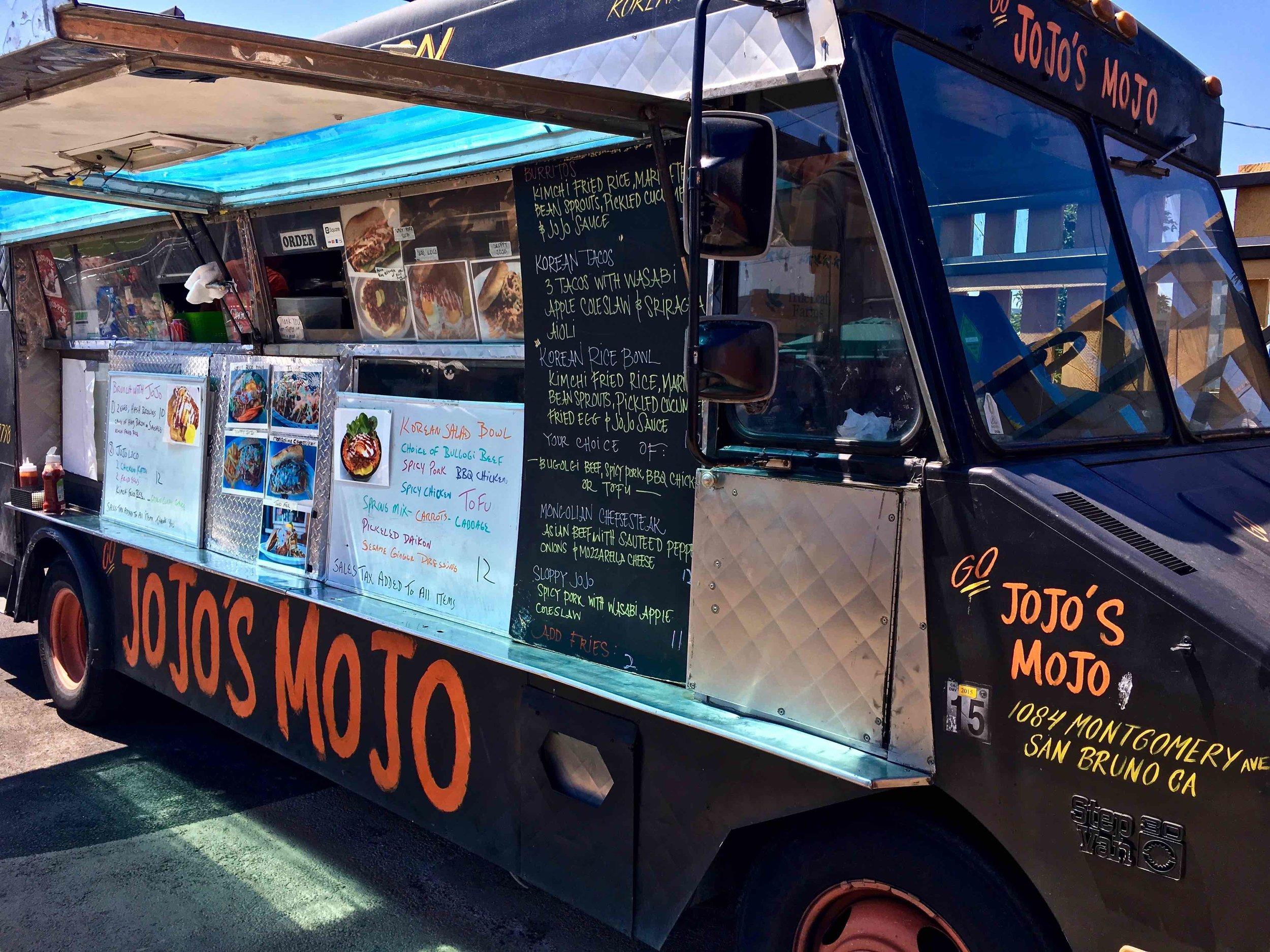 jojo's mojo food truck