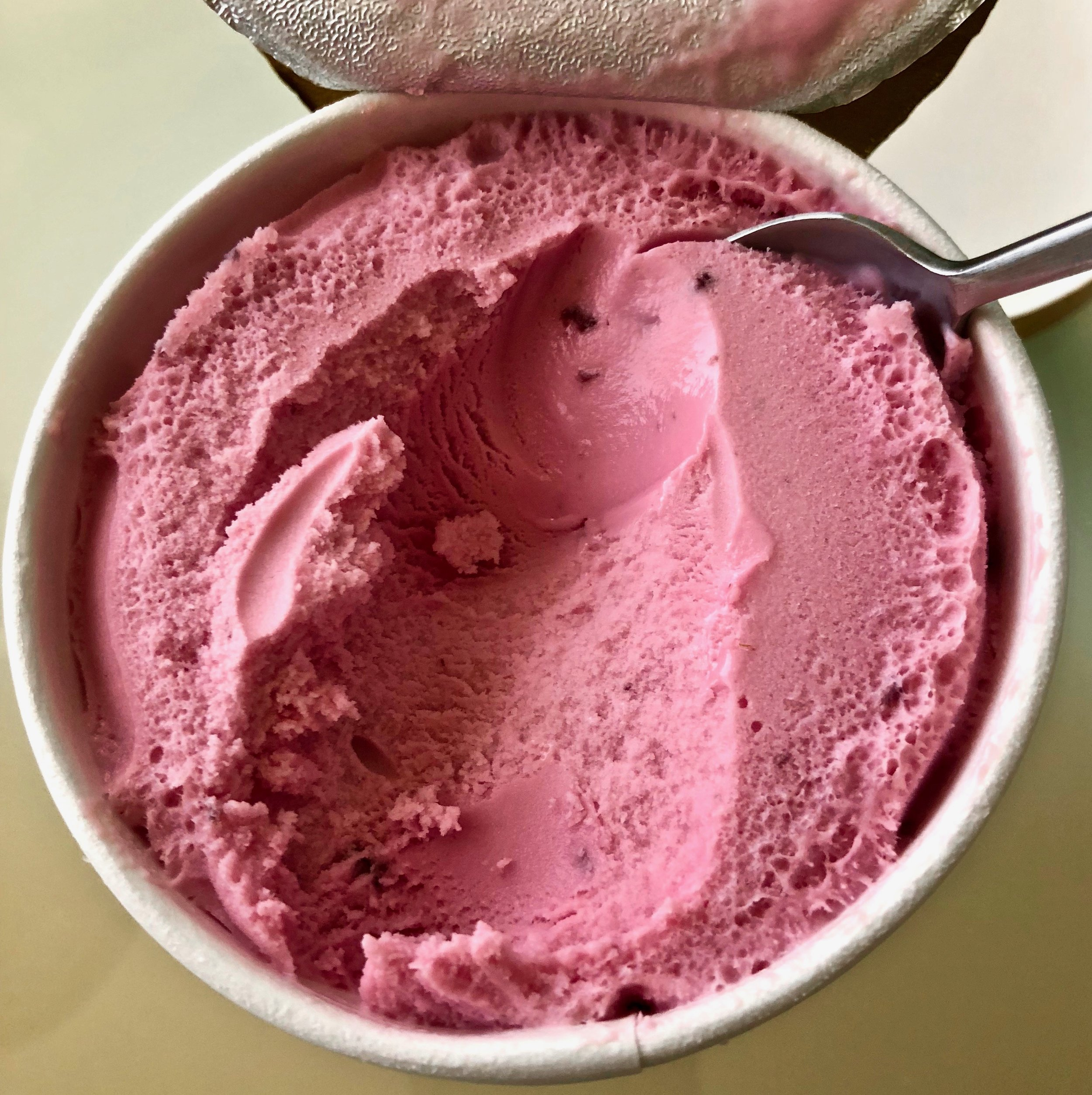 black cherry ice cream
