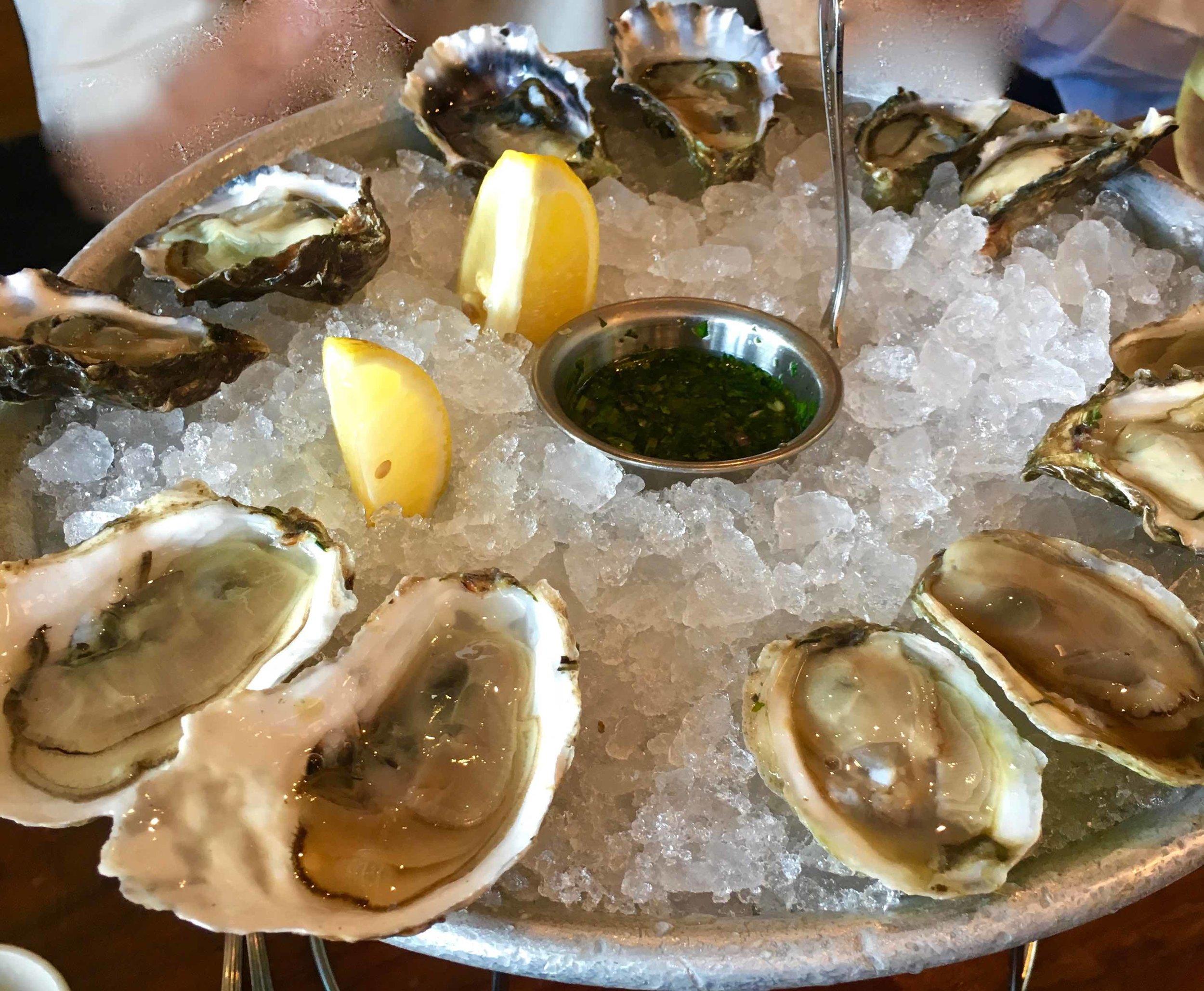 oyster bar mix plate $38