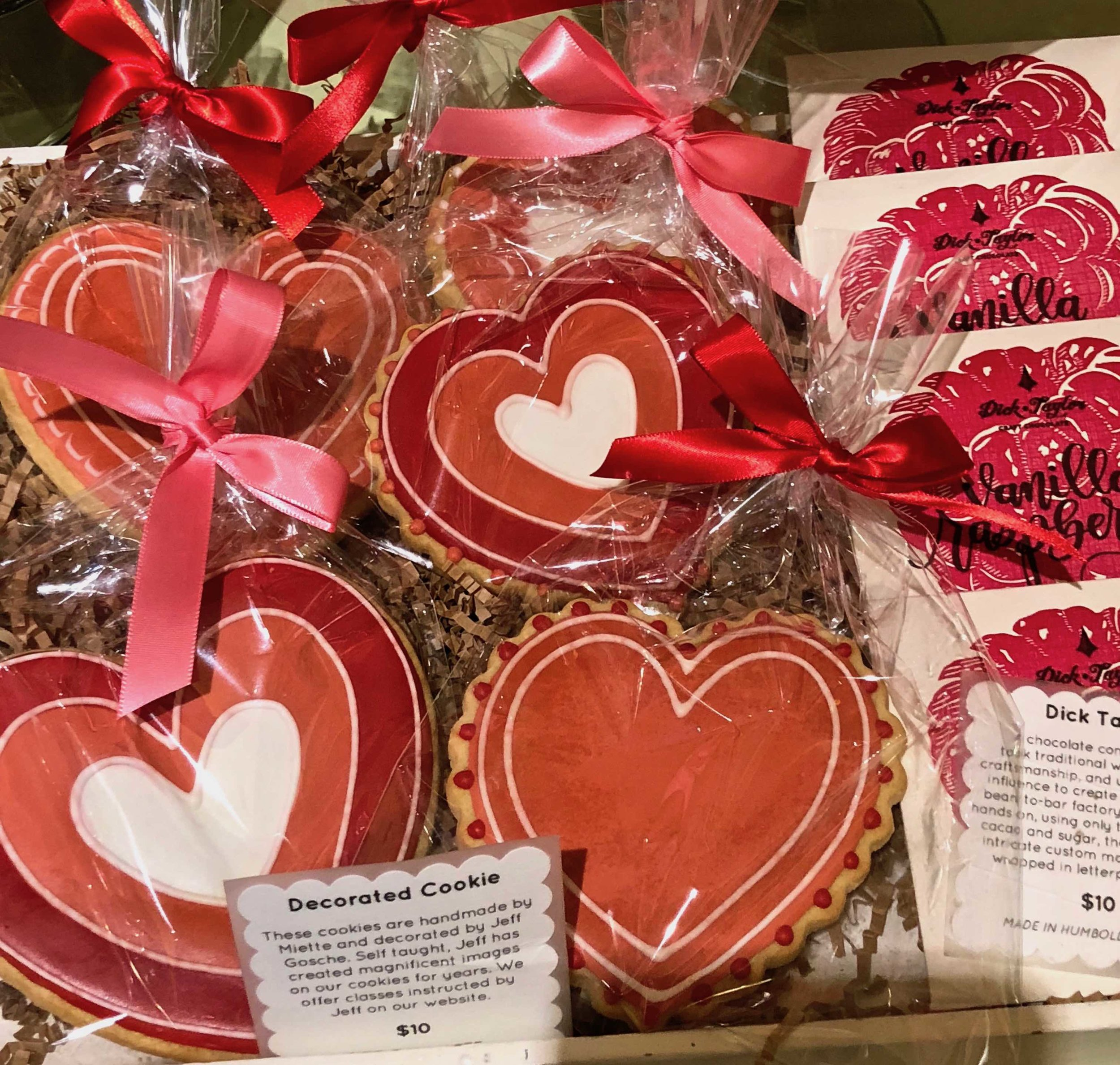Valentine cookies from Miette