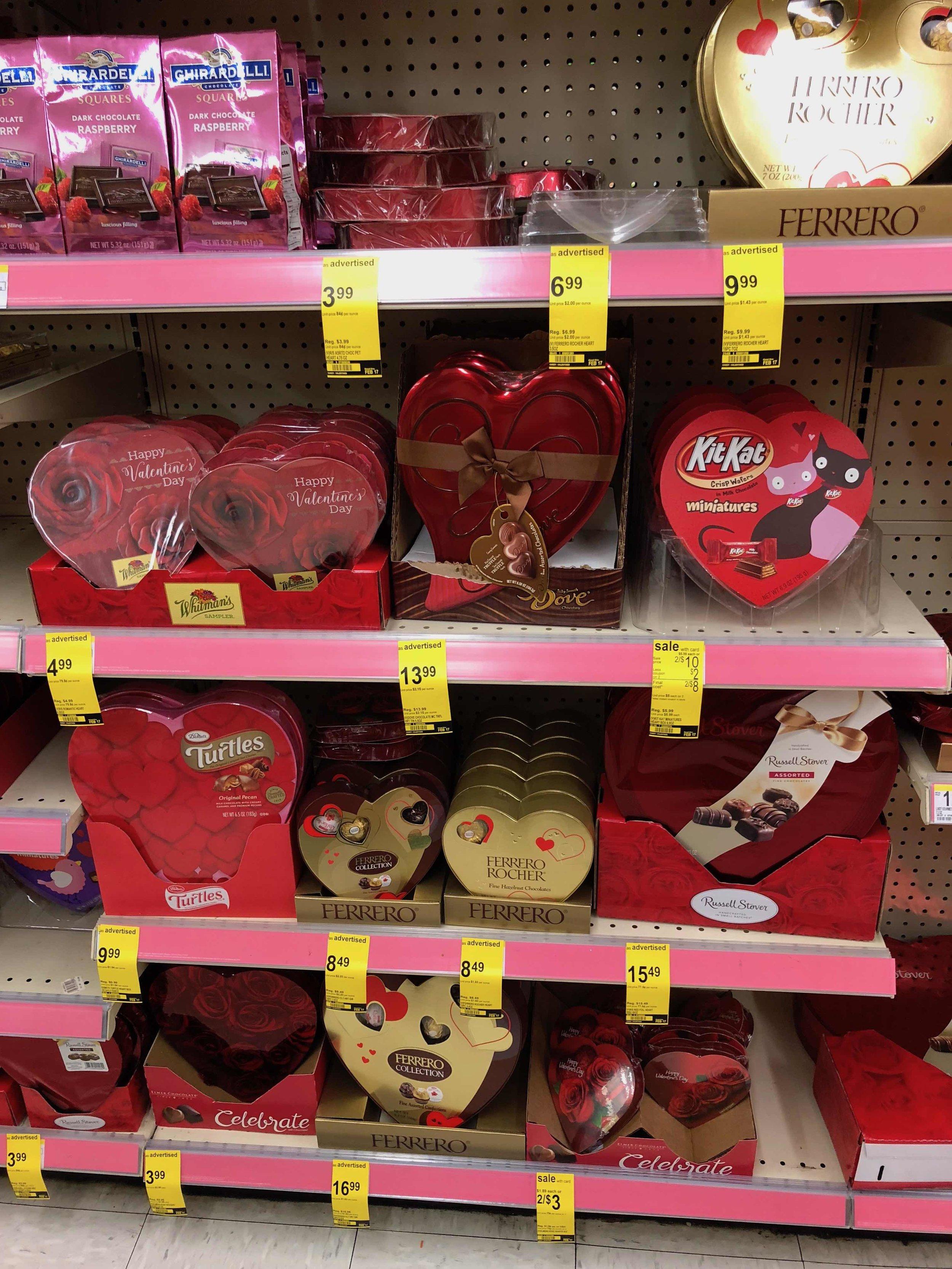 chocolate at Walgreen's