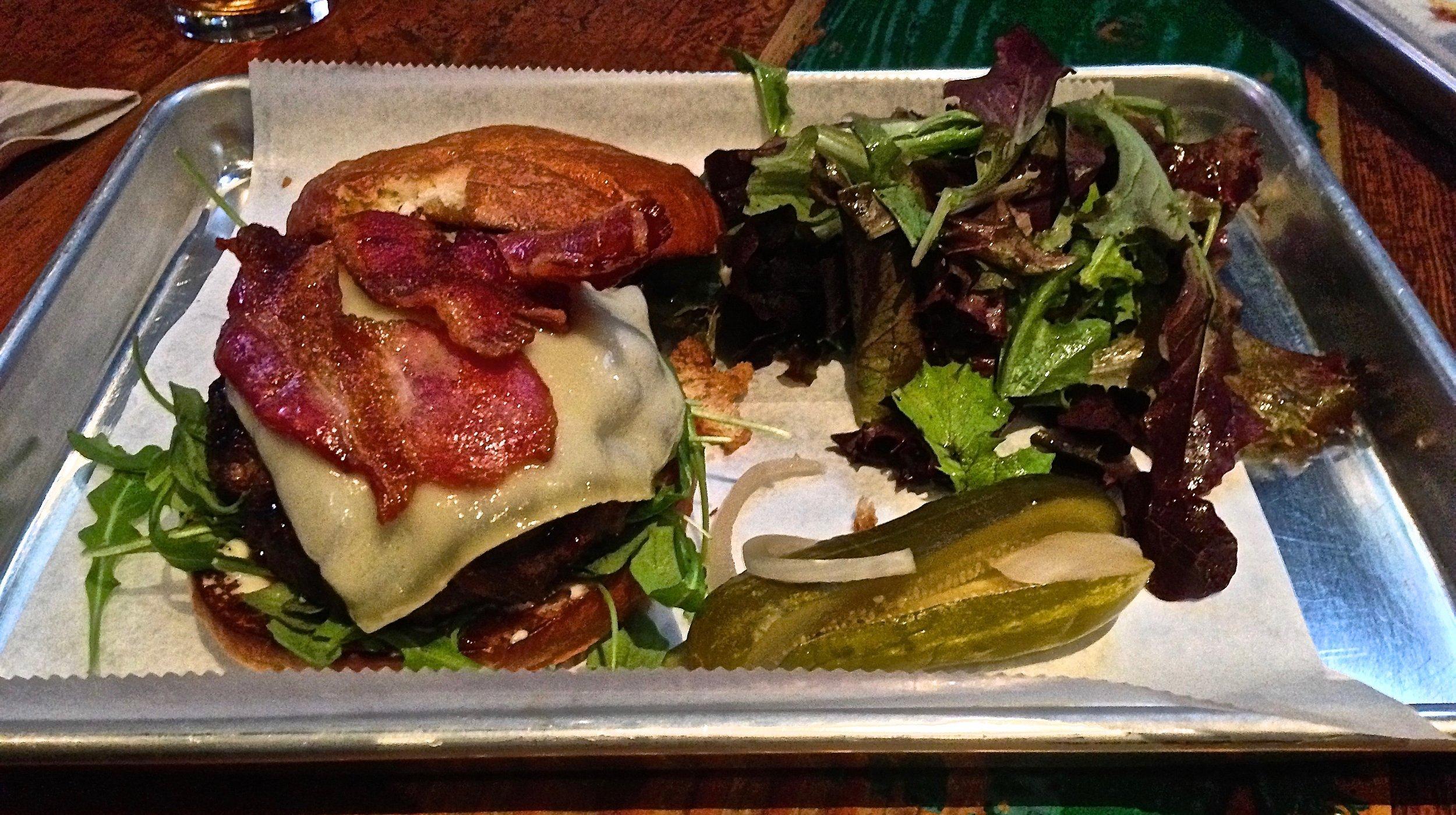 Hi Tops bacon cheeseburger