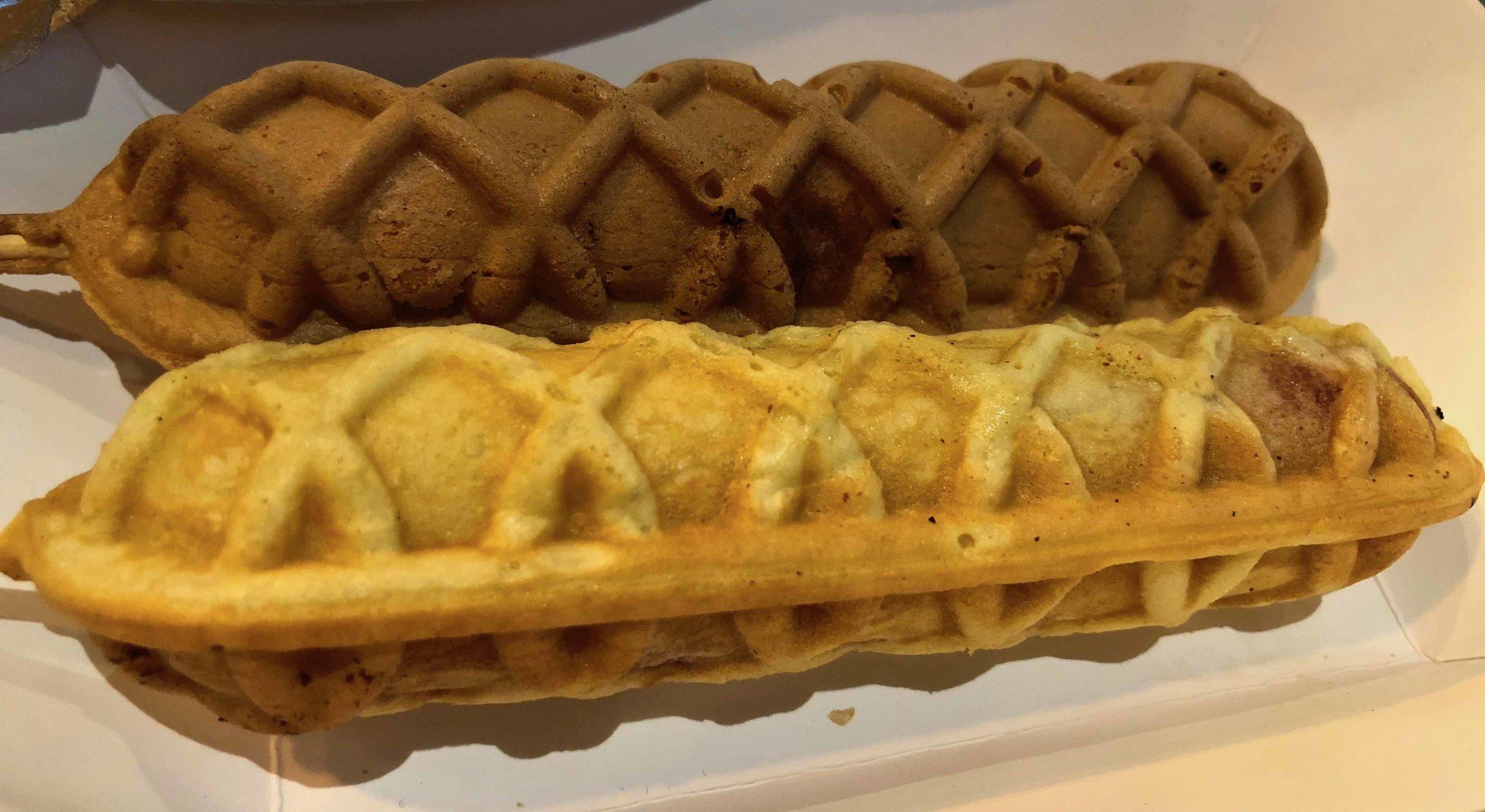 waffle dogs