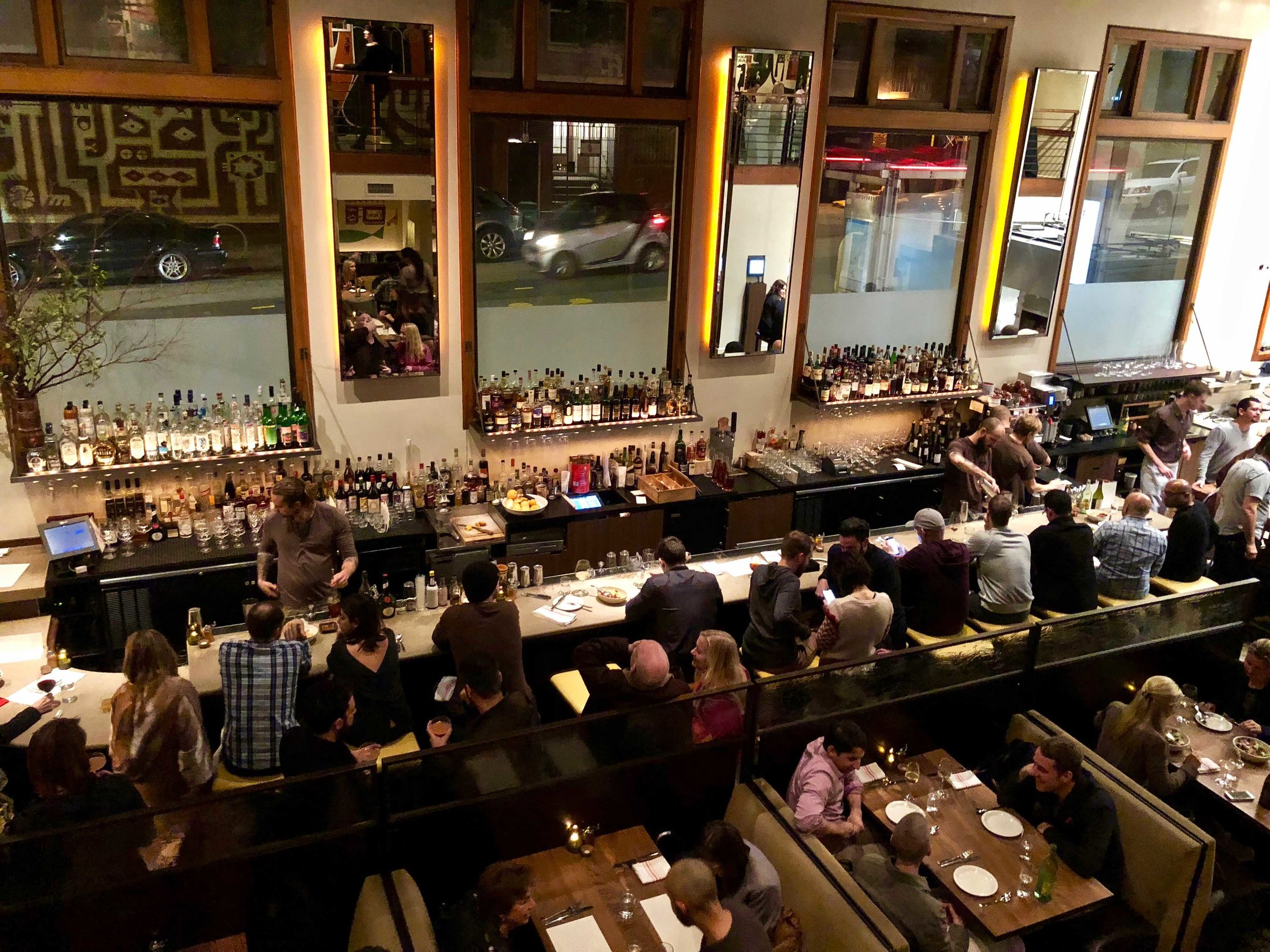 the active bar at Nopa