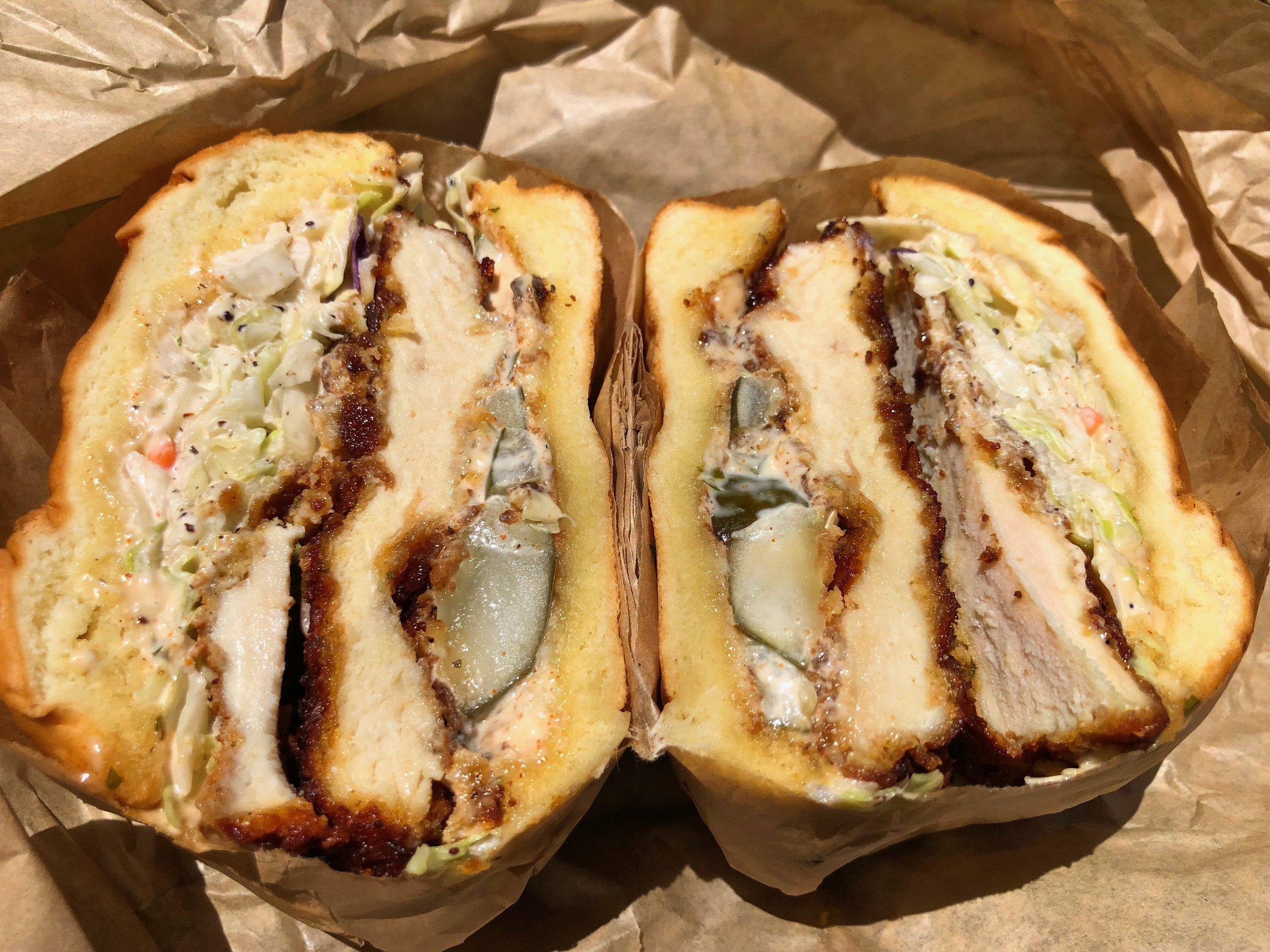fried chicken sandwich $11