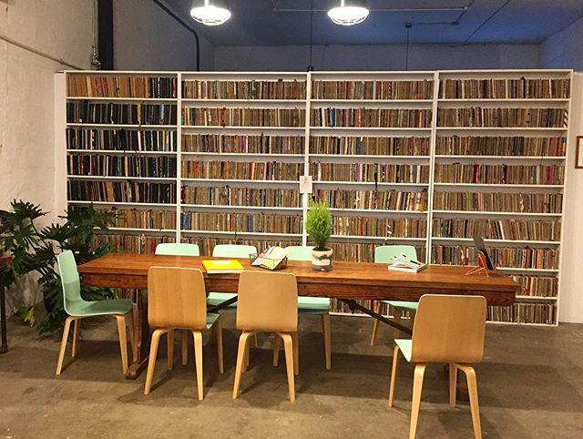 Thousands of sketchbooks @thesketchbookproject #sketchbookproject #sketchbook #sortedbooks #brooklyn #library #bookshelfgoals #librierge