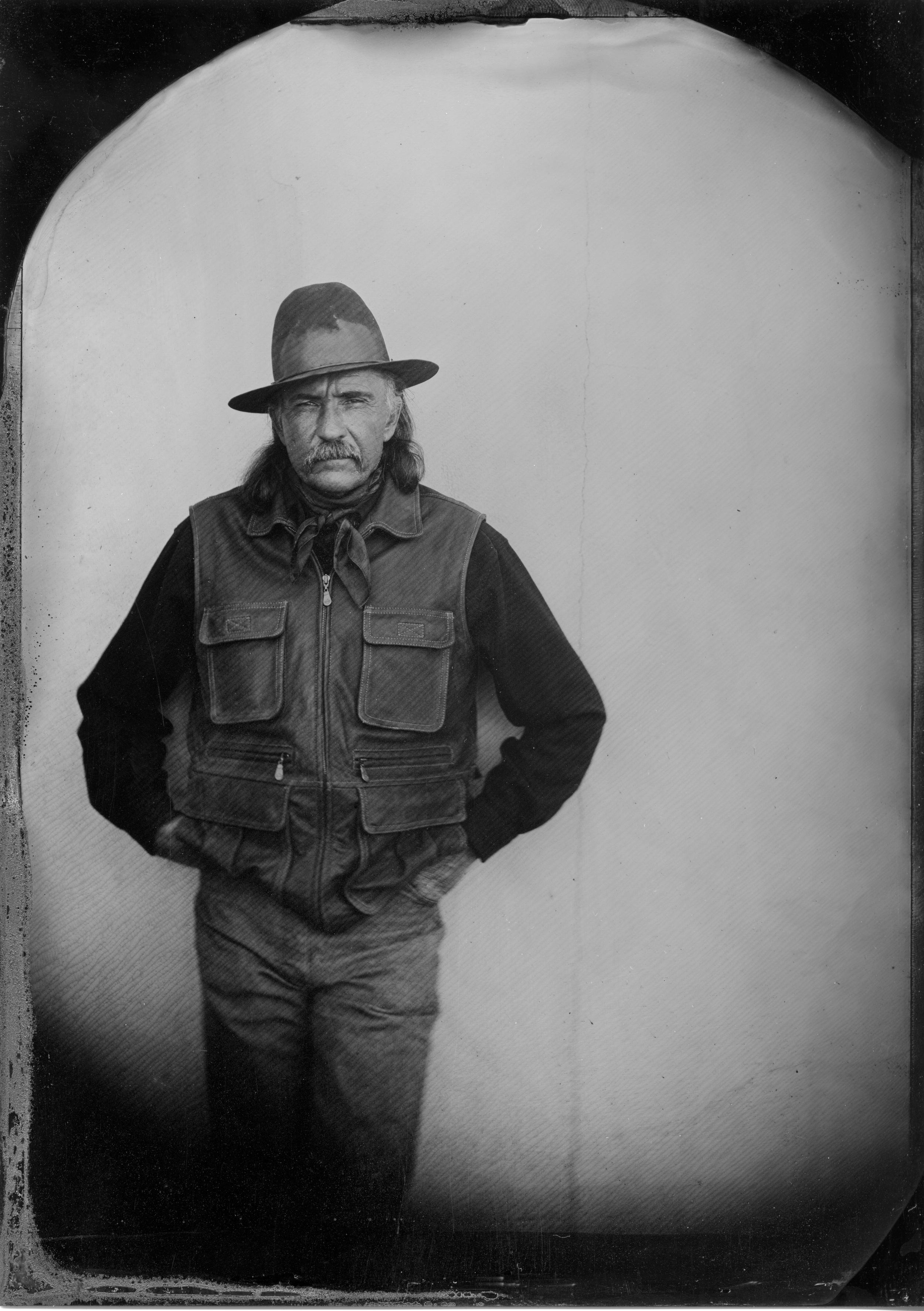 Wyman Meinzer Tintype by Rob Kendrick