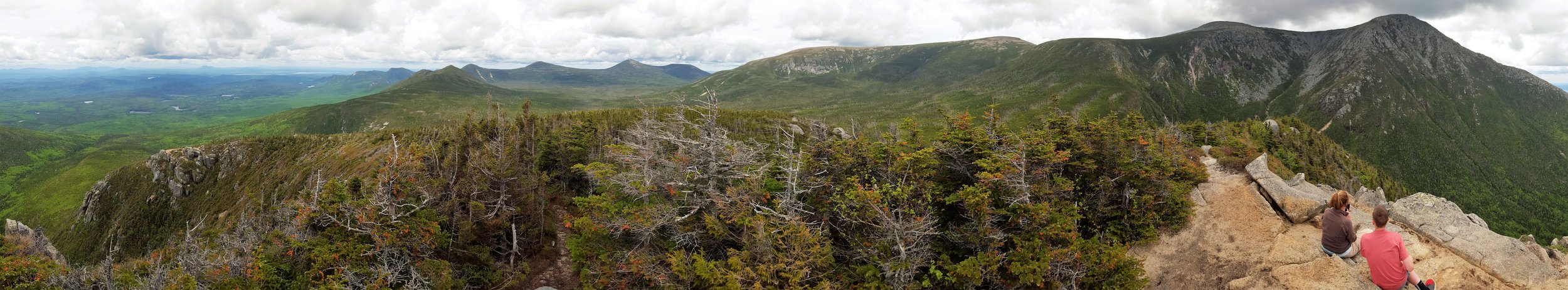 Looking north and east from the summit