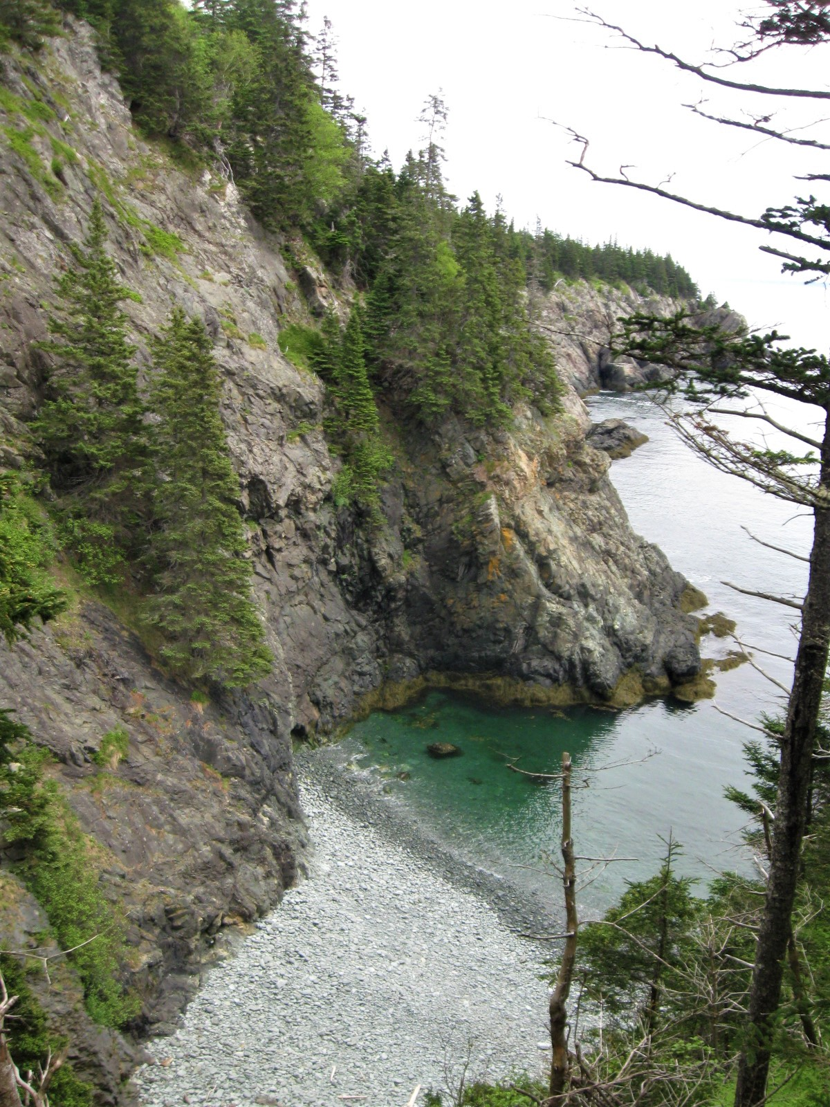One of the beaches near The Pulpit