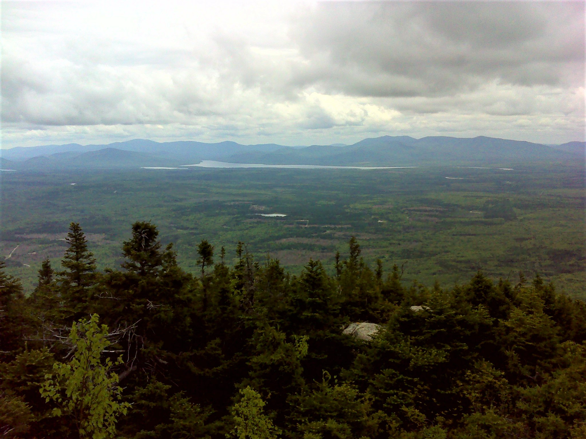 Katahdin and its neighbors from the summit