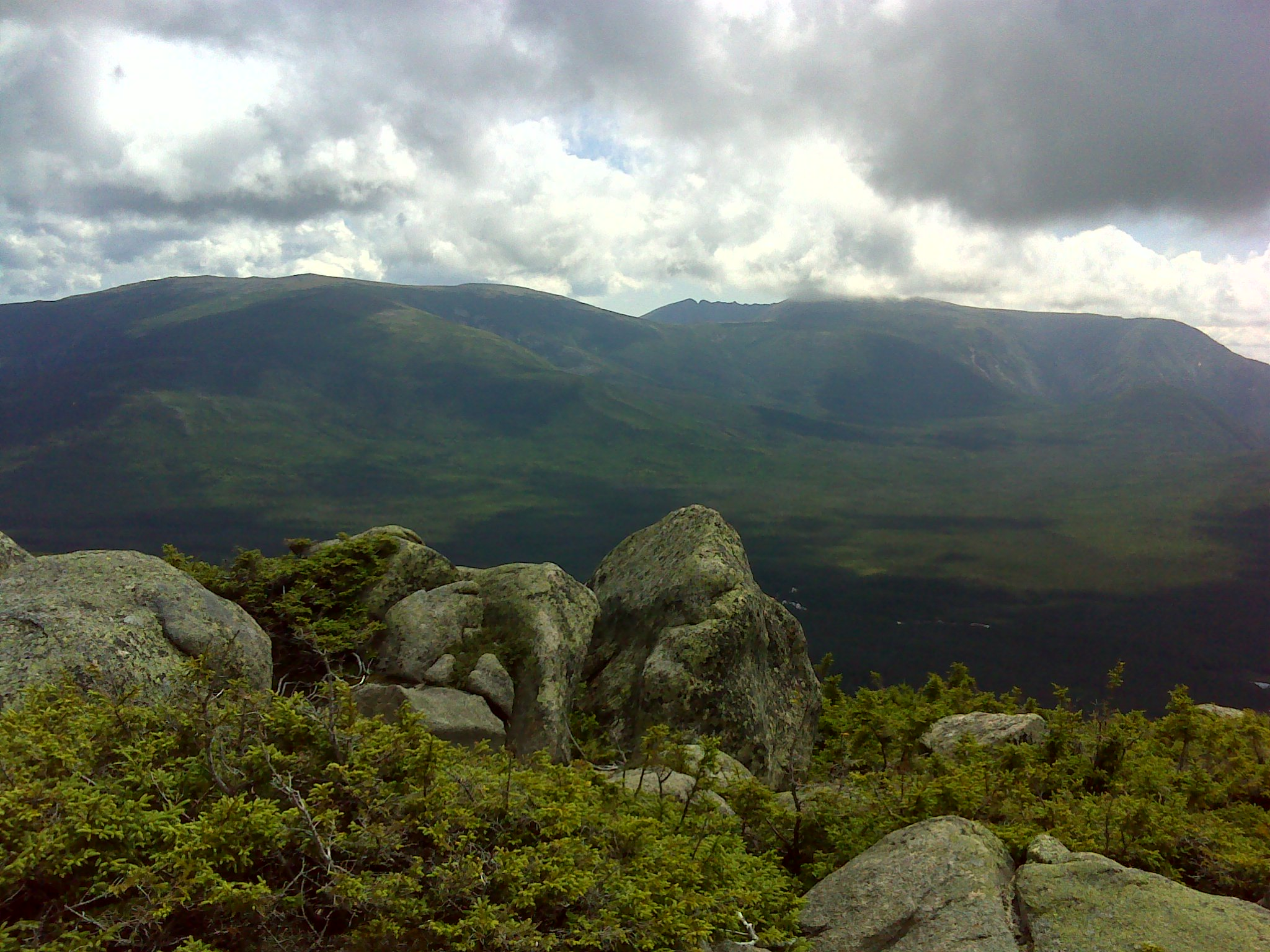 Katahdin across the Klondike