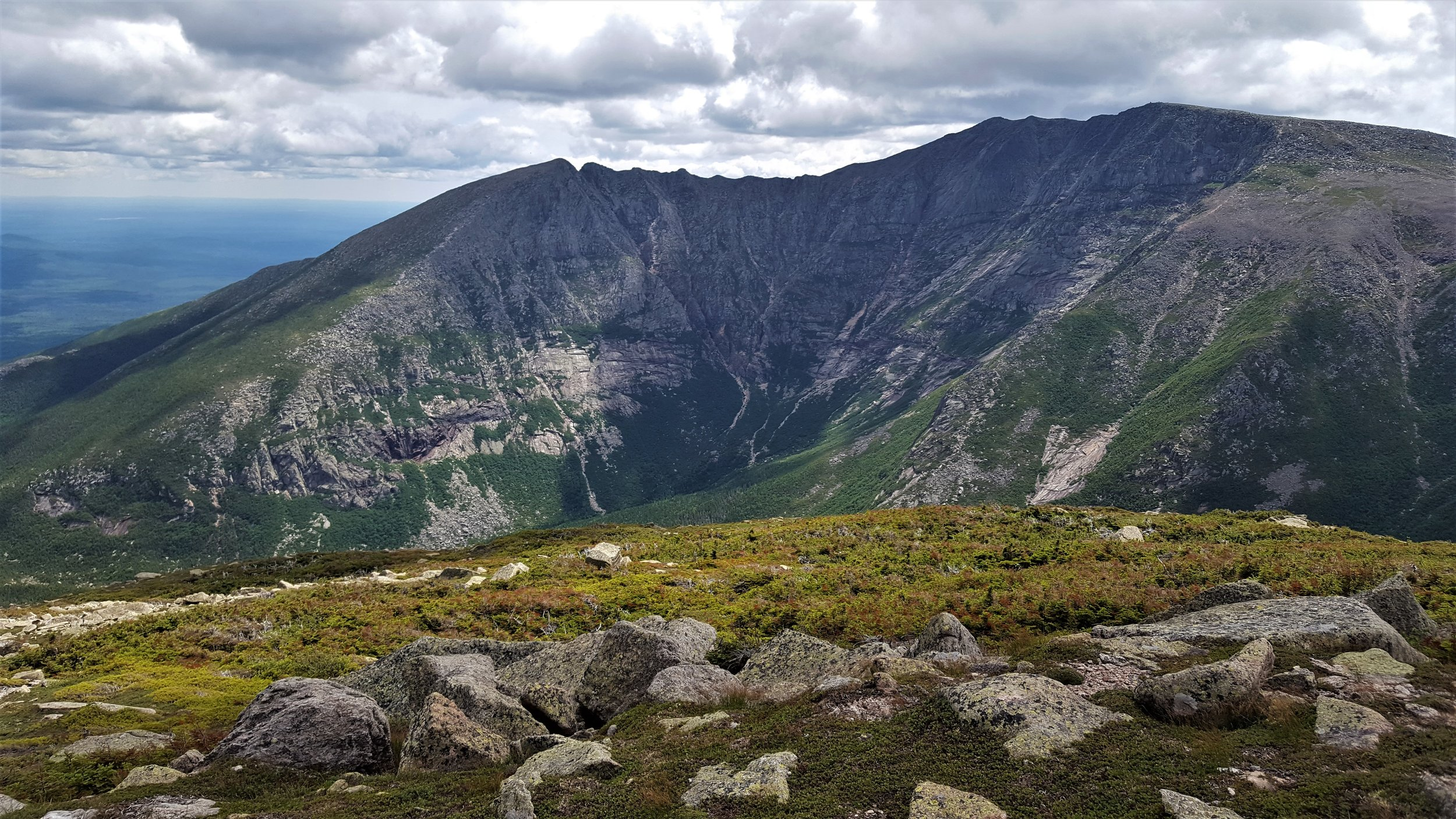 Katahdin from the top of Hamlin Ridge