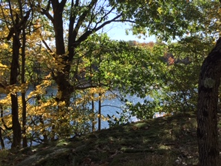 Stunning spot in Frontenac Park. Truly a wow.