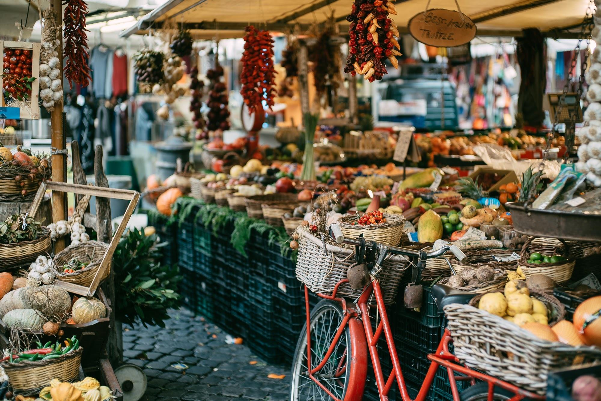 Campo de fiori - Mercato