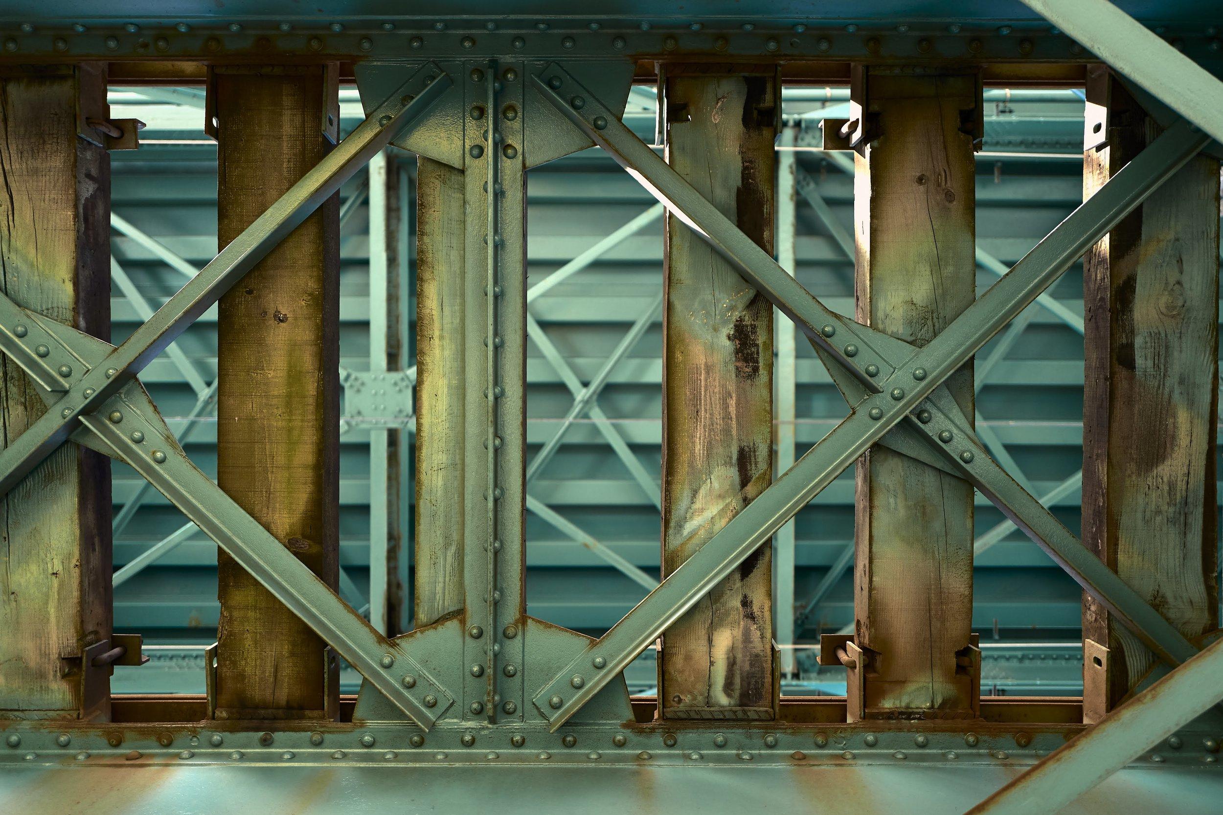 Eiffel Bridge Detail © Vincent Bridenne