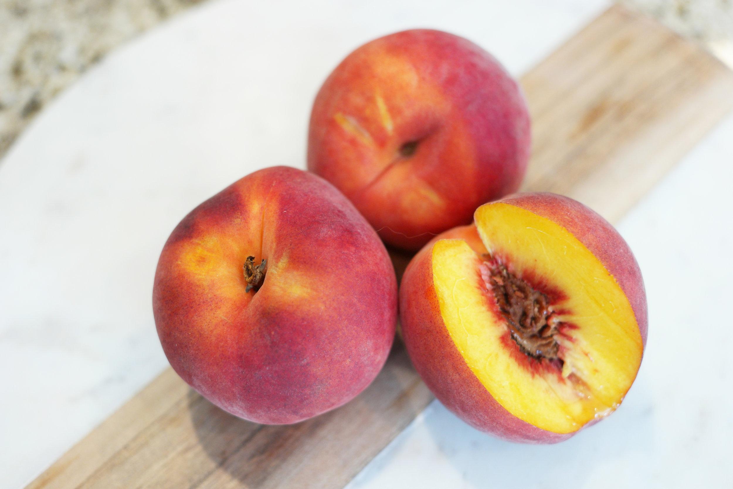 Fresh peaches!
