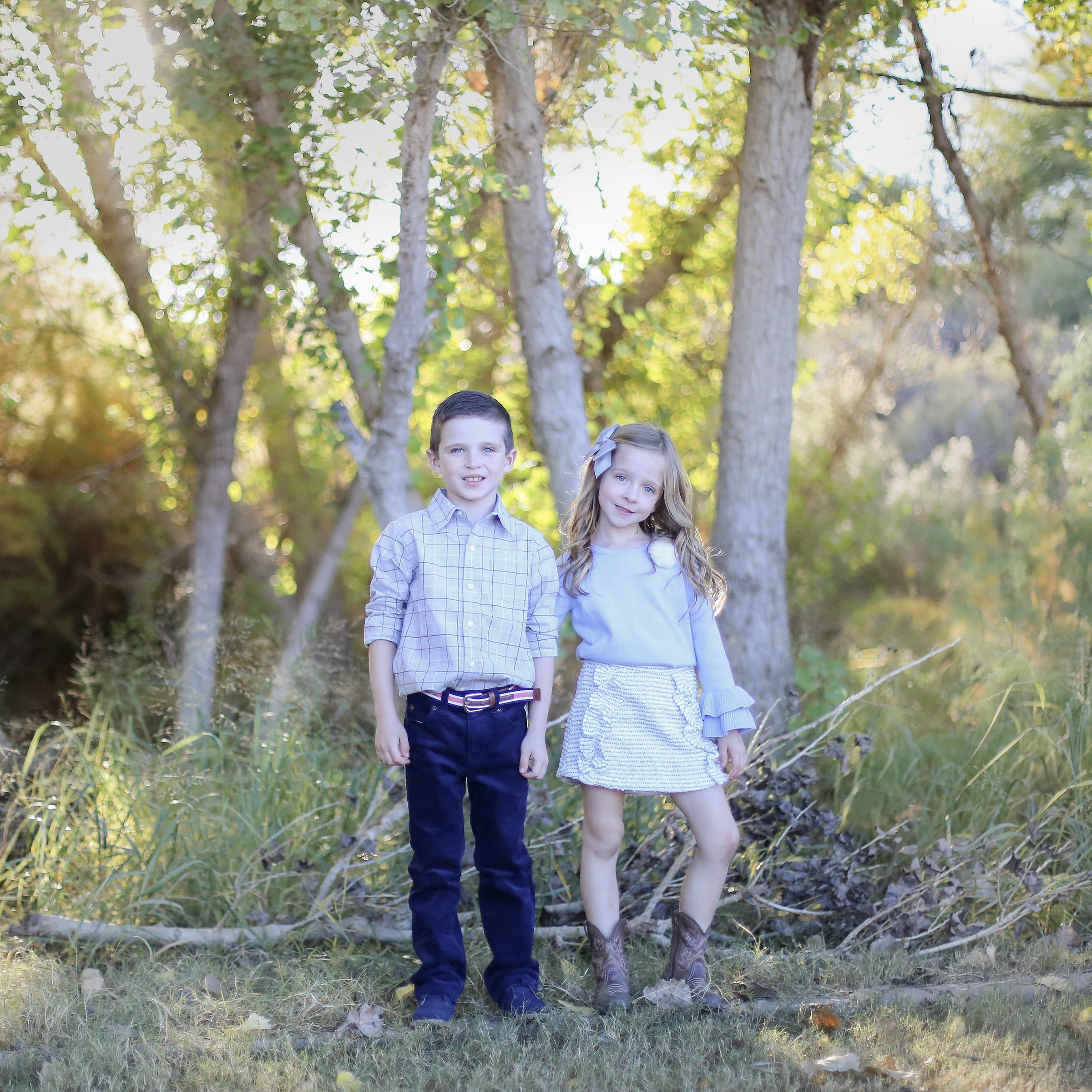 So much of my focus in 2018 was centered around these two amazing children, which was so, so worth it!  photo by my talented and amazing sister-in-law Carli @rodeocityphotography