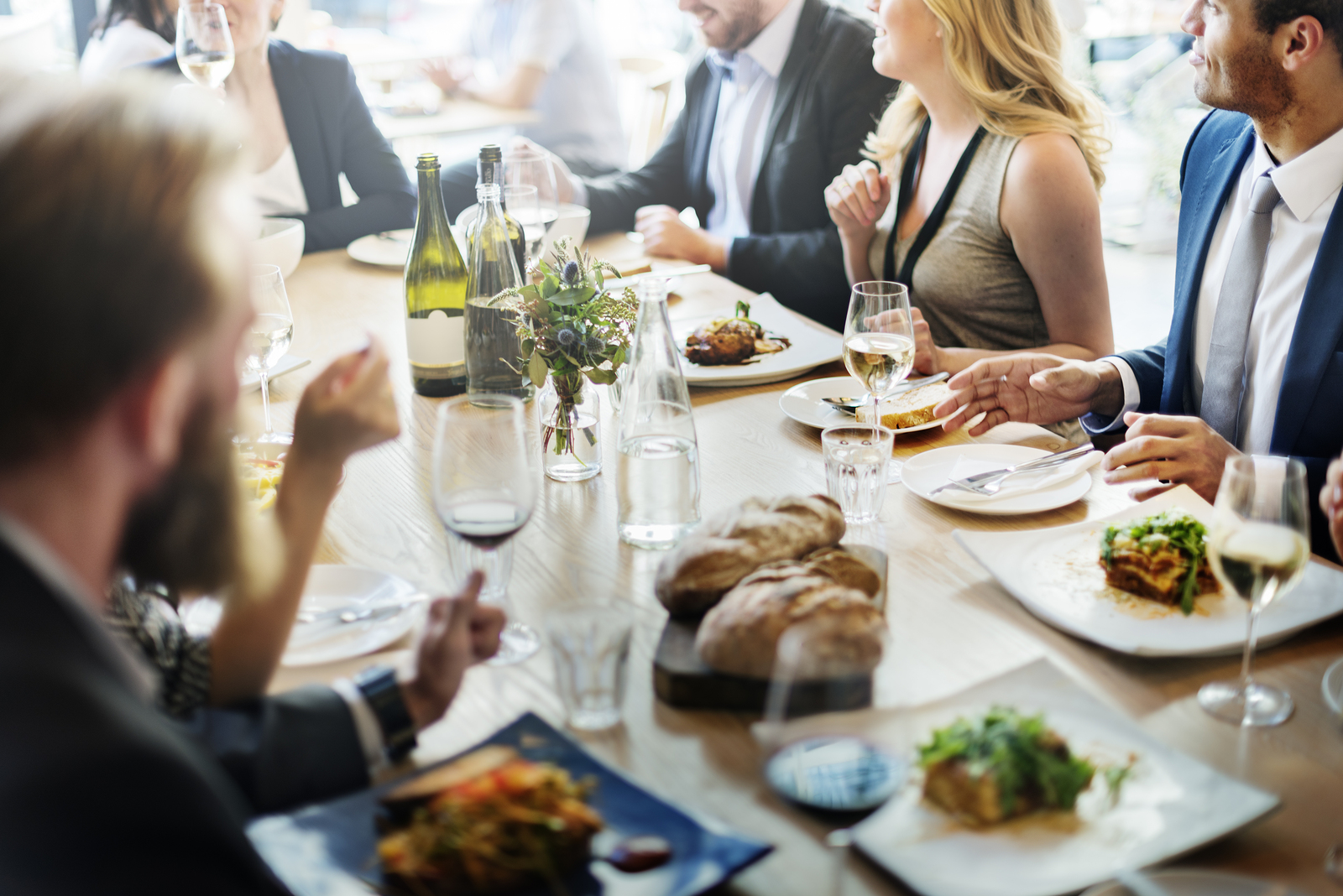 Business dining and entertaining