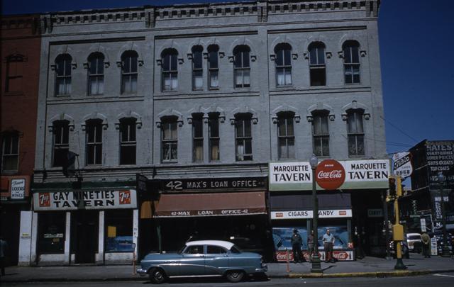 HHM Gateway181-Gay Nineties Tavern, Max's Loan Office, Marquette Tavern.jpg
