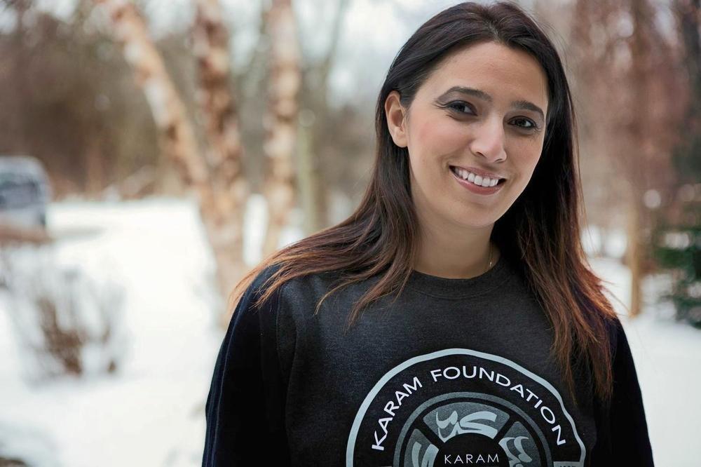 Lina Sergie Attar, Director of Karam Foundation. Photo credit:   Karam Foundation.