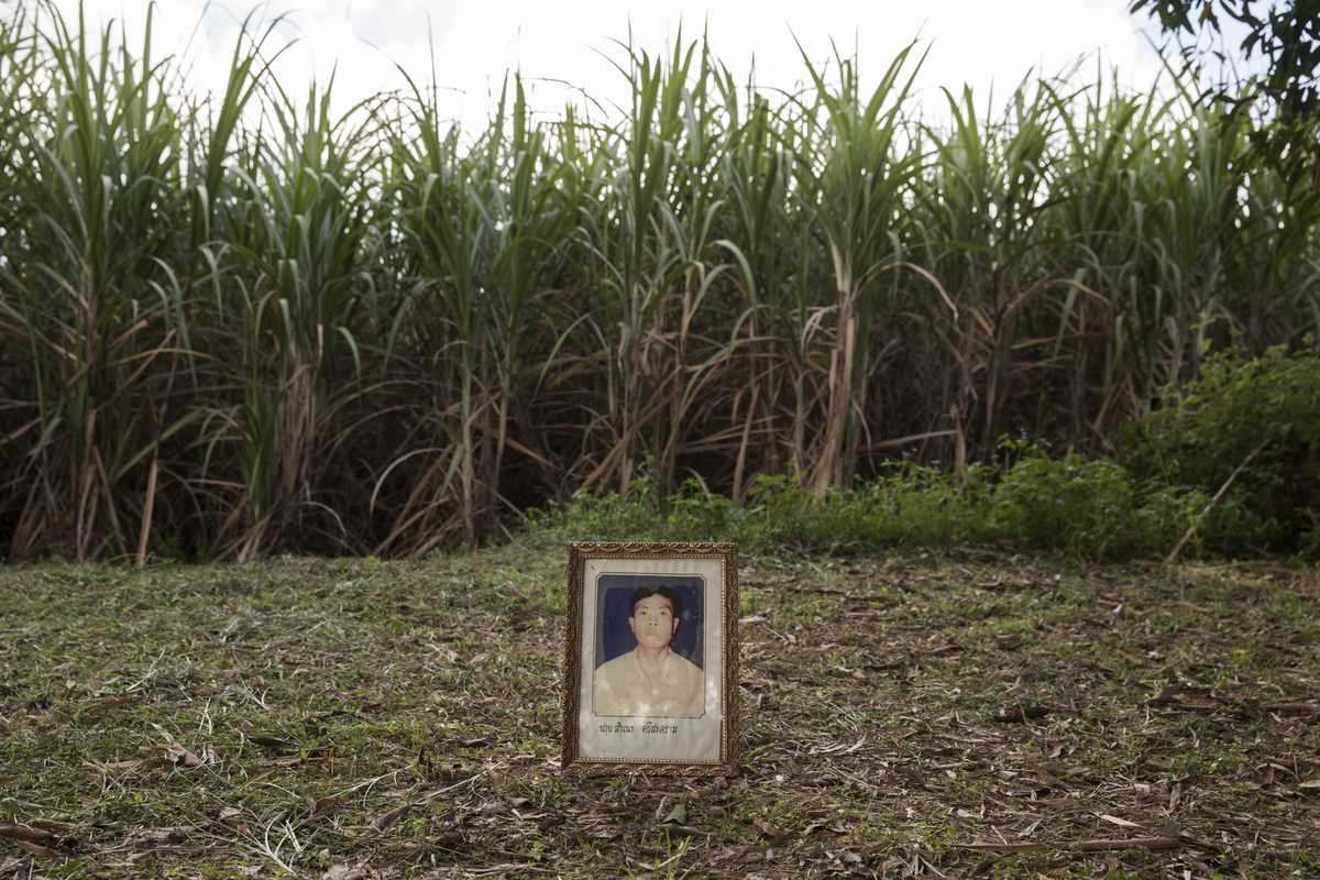 Mr Samnao Srisongkhram, 38, was shot dead in a field near his village on 25 November 2003 in Lam Nam Phong village, Khon Kaen province. He was the President of the Lam Nam Phong Environmental Conservation Association in Ubonrat district of Khon Kaen Province, leading a fight against the dumping of waste by a paper factory.