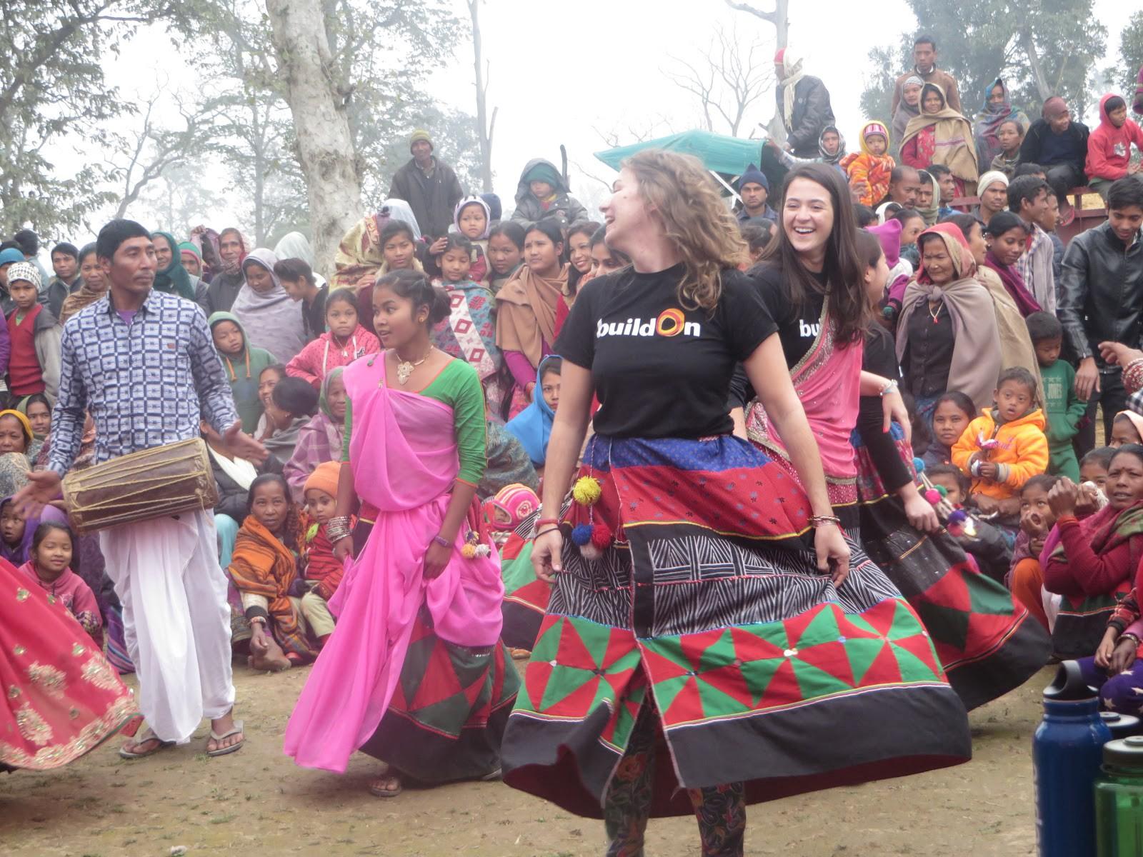 Kanari, Nepal Welcome Ceremony.