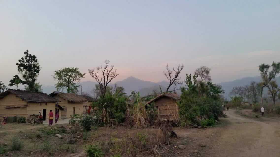 Neighborhood around my host family's house in Philliarphrata, Nepal.