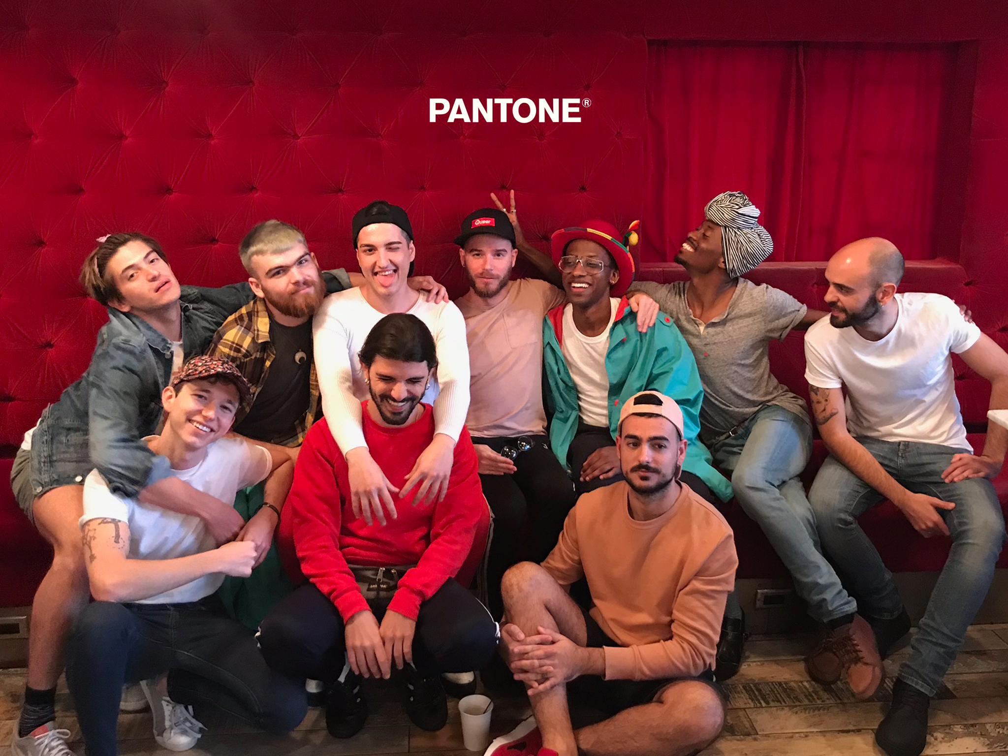 Art Gaysel 3, Hotel Gaythering, 2017 (Left to right, top to bottom) Blake @blake_gobyebye, Britt @therestwasmagic, Fran @franmunyoz, Adam @adamchuck, Derick @derickwhitson, DePaul @depaulvera, Bran @bransolo, Jonathan @jonathan_kent_adams, Pascual @paskrod, Daniel @eldibujo