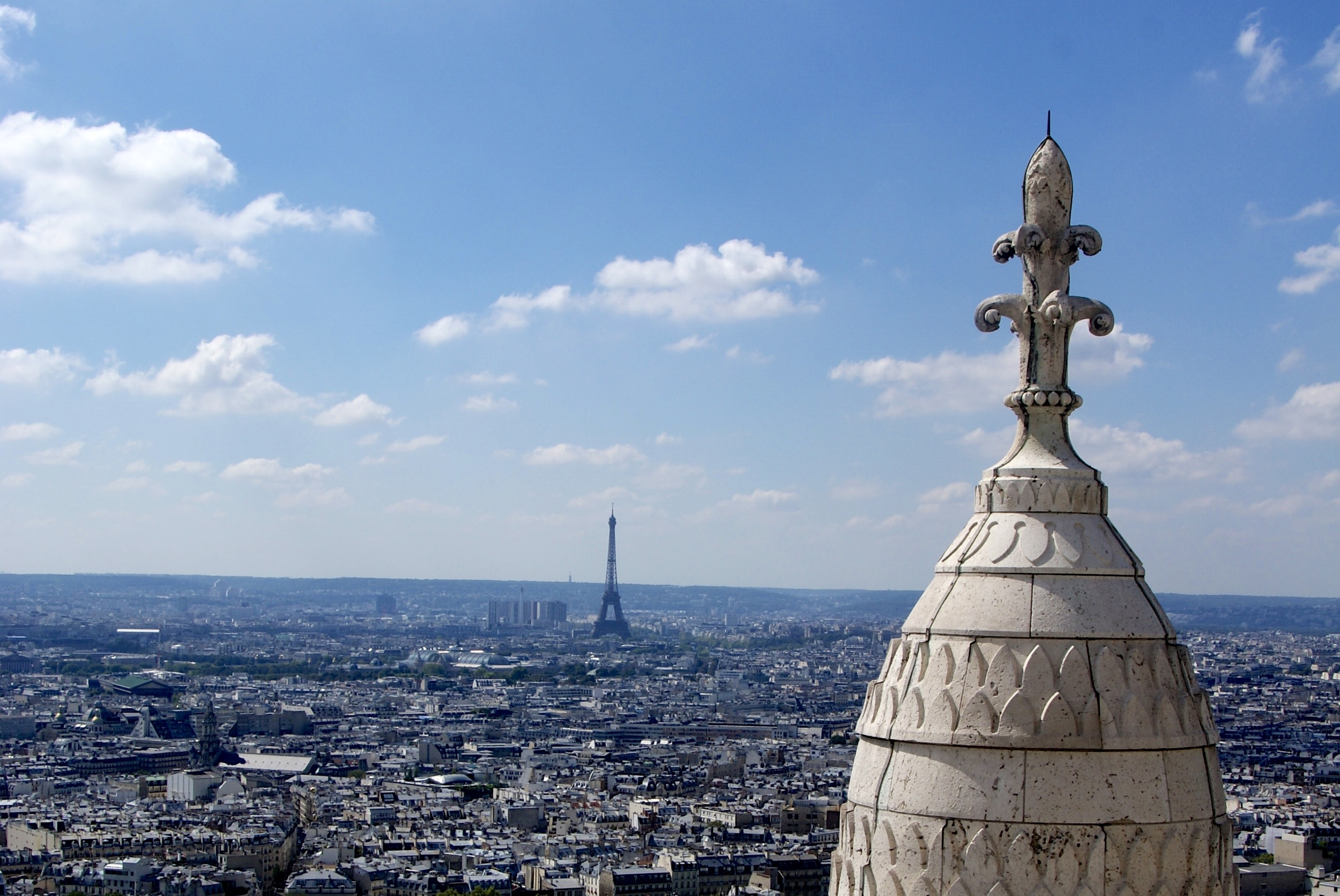 Views from the Dome of Sacré-Coeur