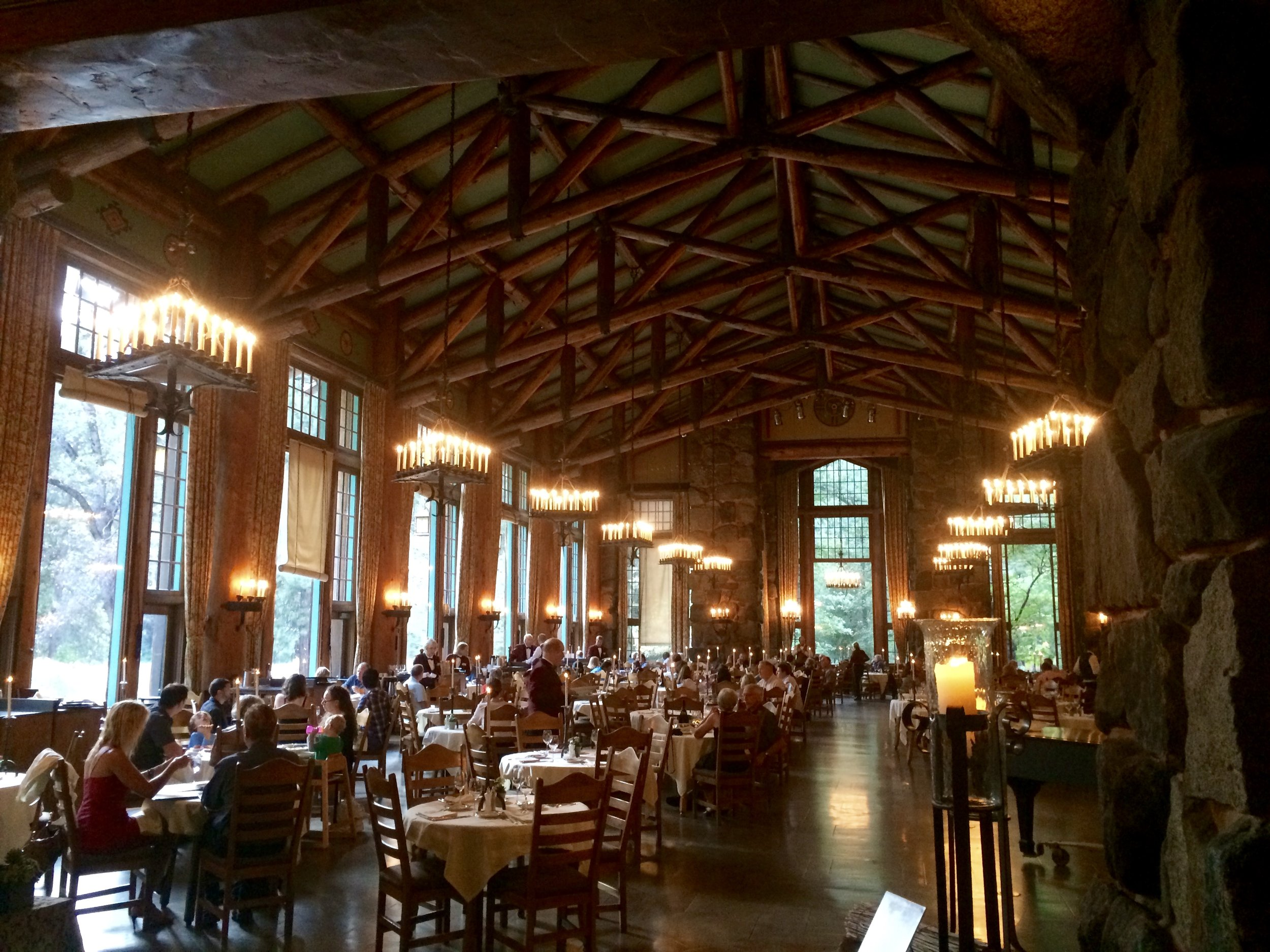 Fine Dining at the AHWAHNEE HOTEL