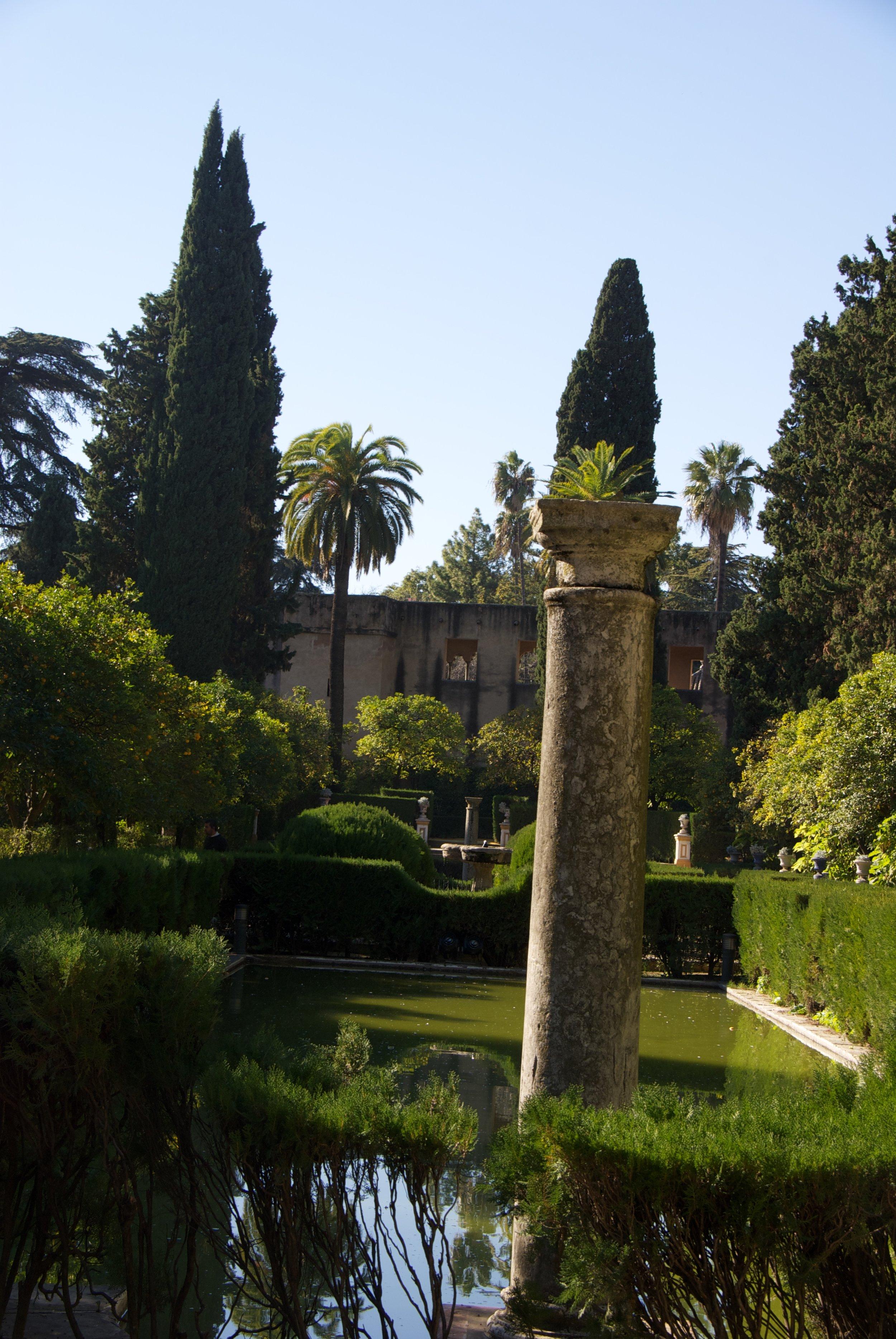 The Gardens of the Real Alcázar