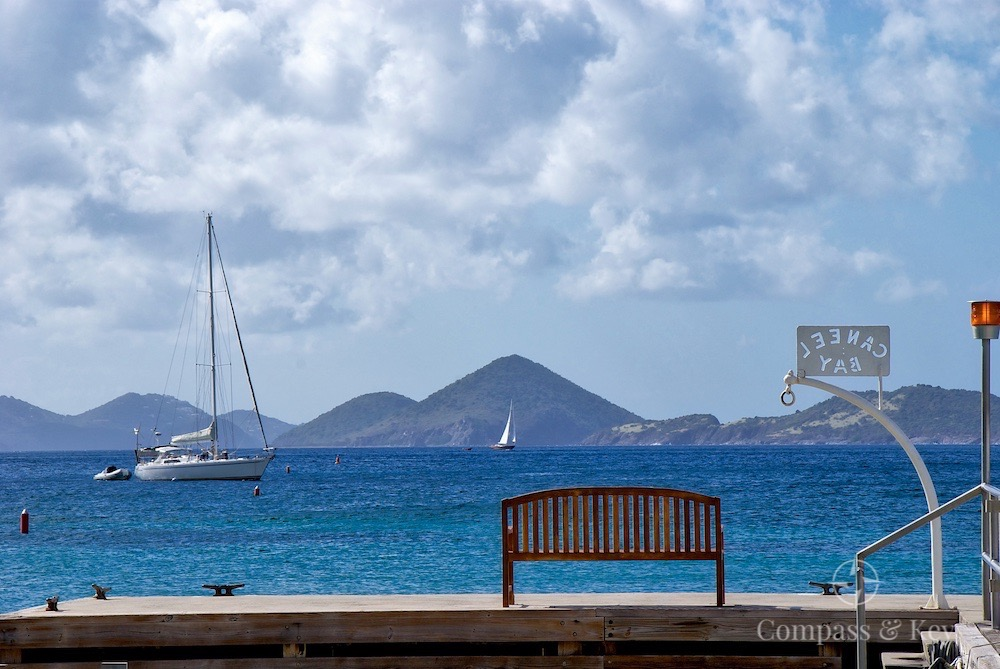 Admiring the Views of Caneel Bay on ST. John