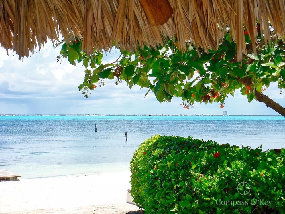 Taking a Break at Zama Beach Club on Isla Mujeres