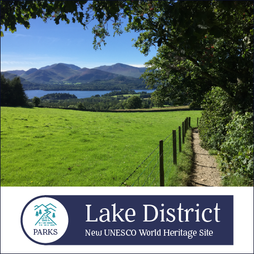 - The rolling hills and stunning countryside of England's Lake District National Park has served as inspiration for artists, writers, and travelers for centuries. Its recent World Heritage site designation reinforces what many already knew: this is a must-visit destination.