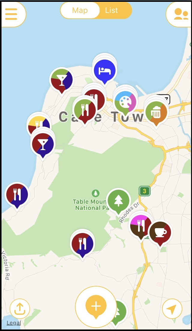 FOr my Cape Town trip, I looked for hotels around the places I wanted to visit.